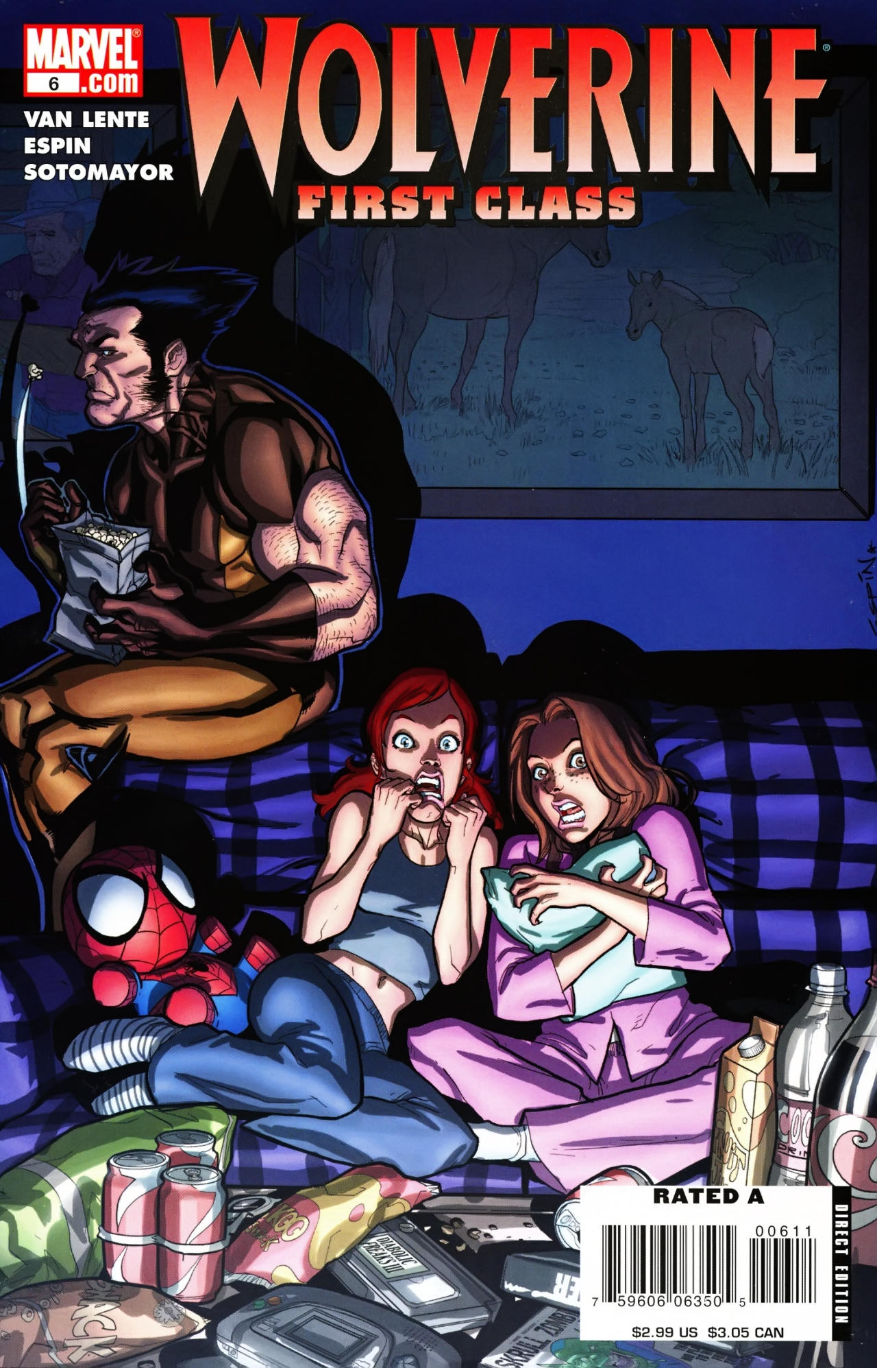 Read online Wolverine: First Class comic -  Issue #6 - 1