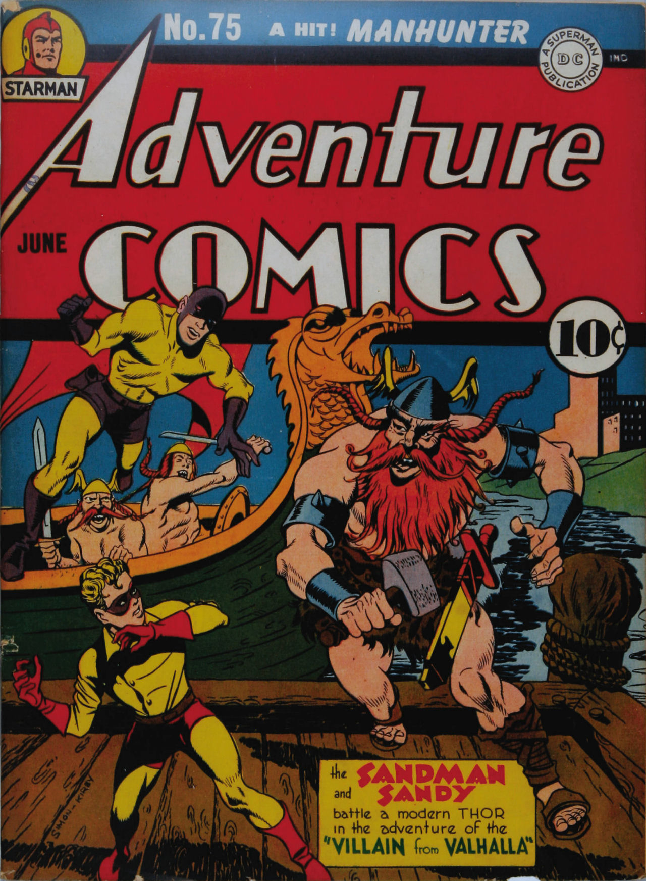 Read online Adventure Comics (1938) comic -  Issue #75 - 2