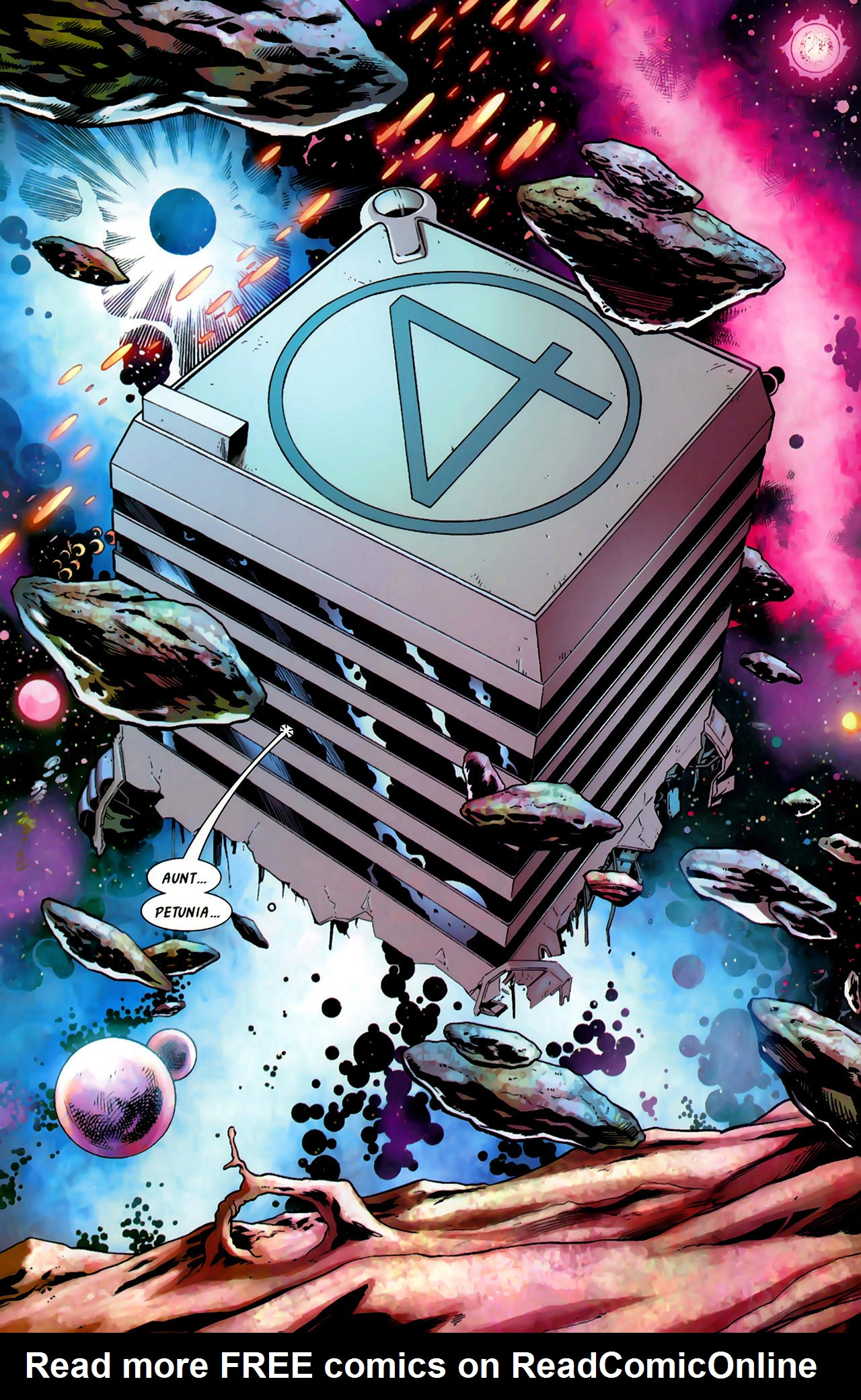 Read online Secret Invasion: Fantastic Four comic -  Issue #1 - 12