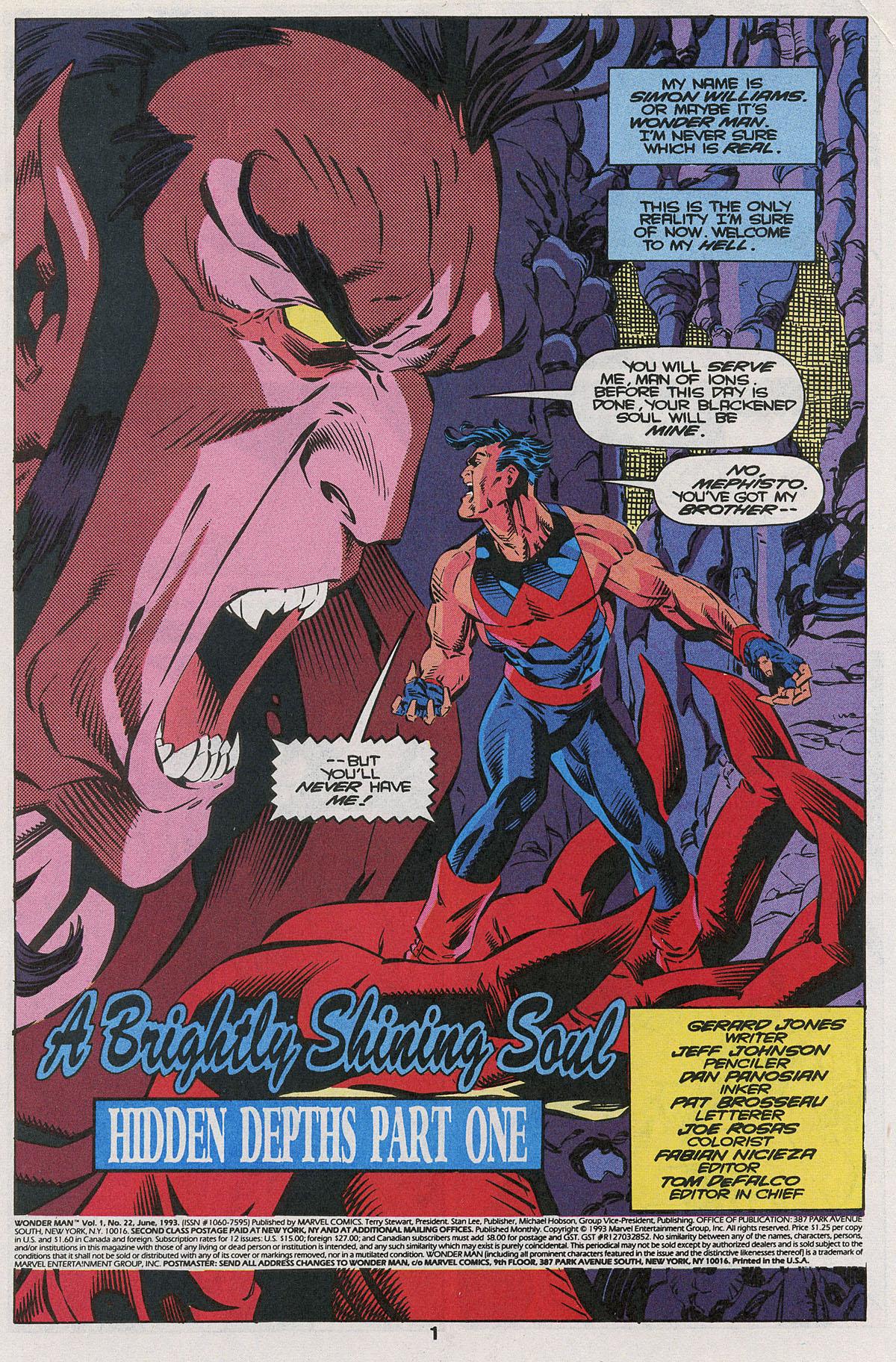 Read online Wonder Man (1991) comic -  Issue #22 - 2