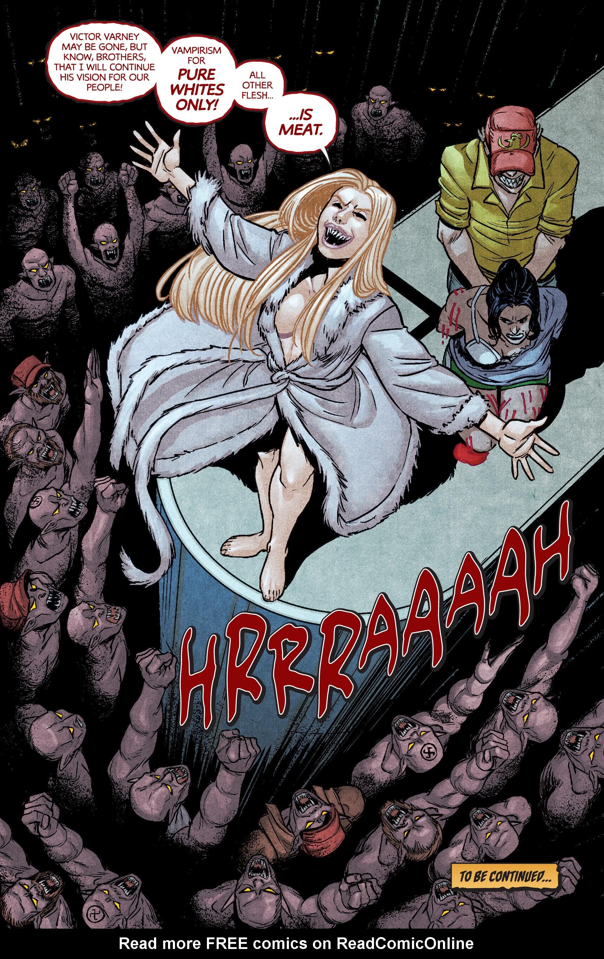 Read online Dark Red comic -  Issue #4 - 22