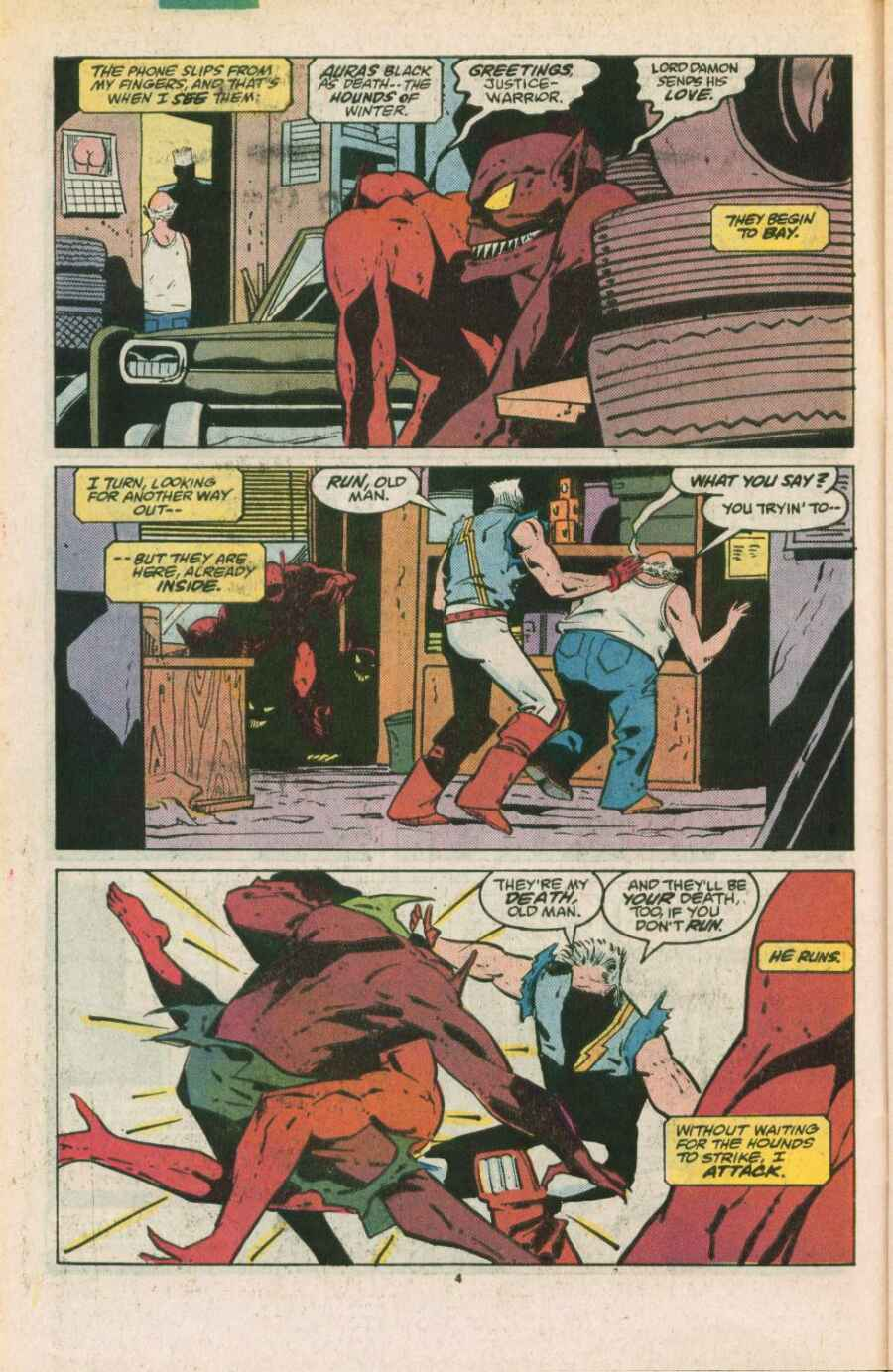 Read online Justice (1986) comic -  Issue #11 - 5