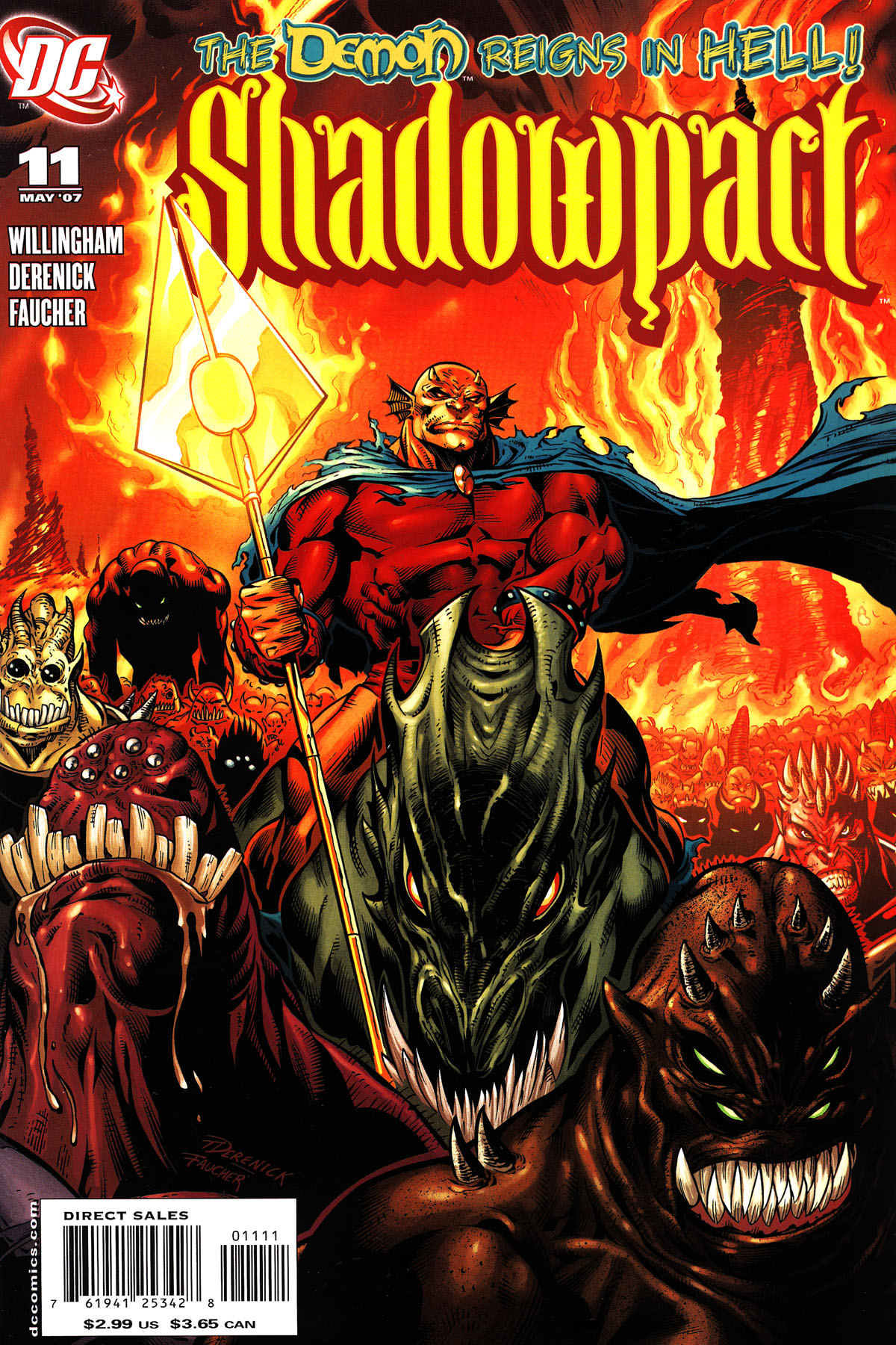 Read online Shadowpact comic -  Issue #11 - 1