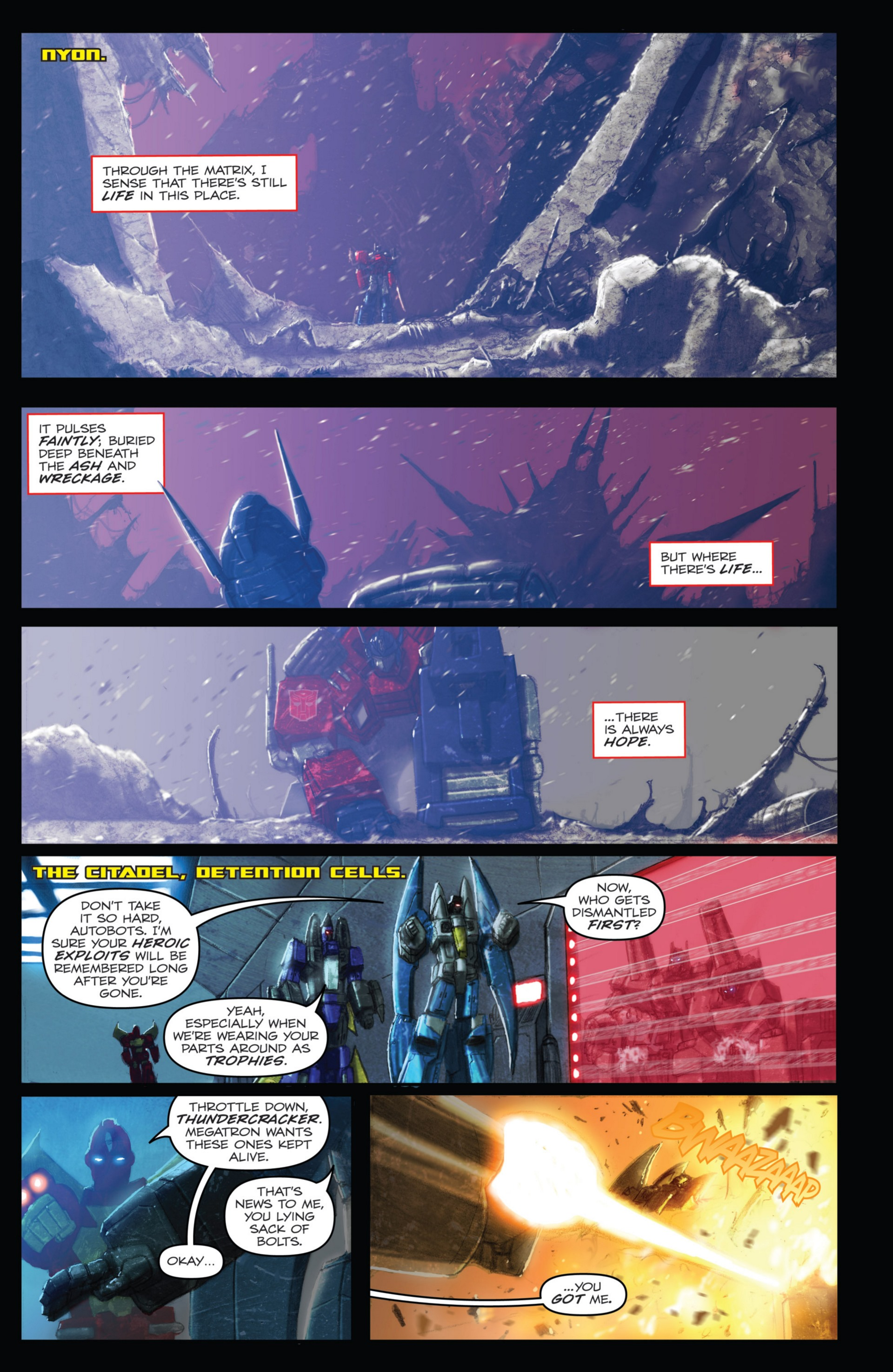 Read online Transformers: Autocracy comic -  Issue # Full - 91