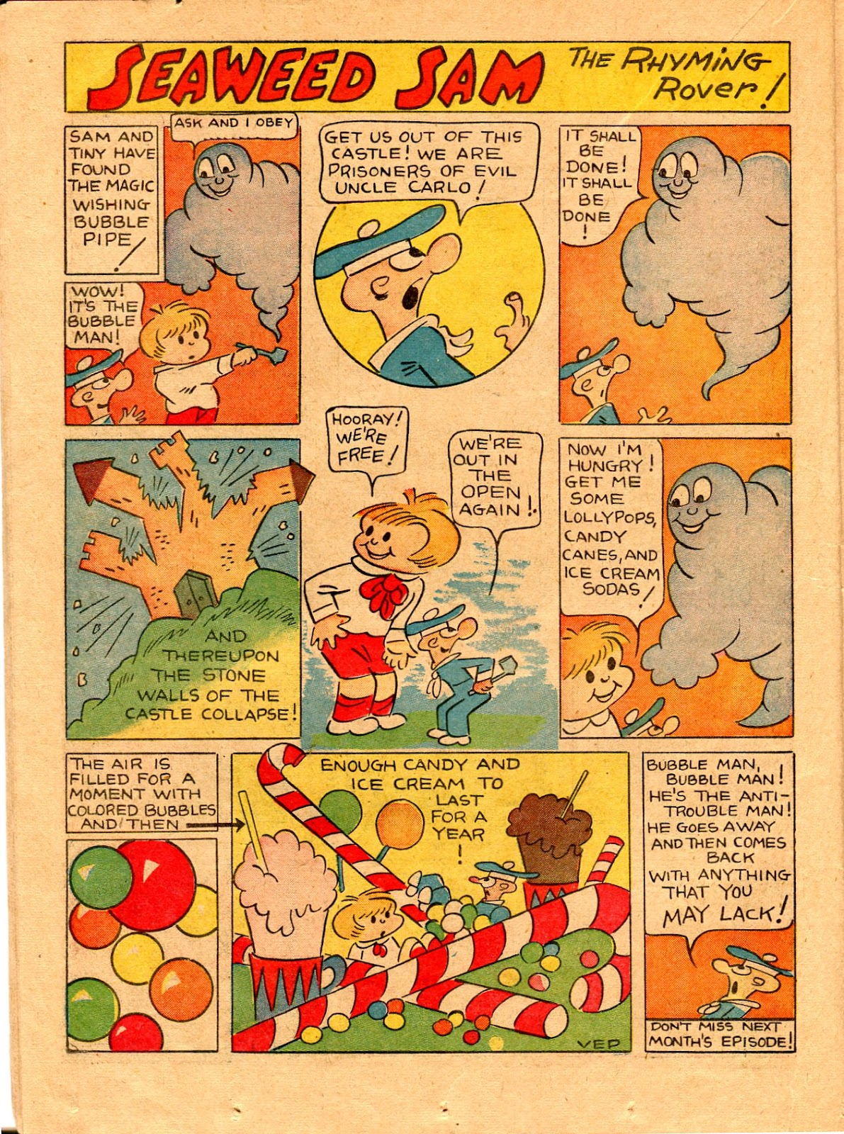 Read online Famous Funnies comic -  Issue #67 - 41