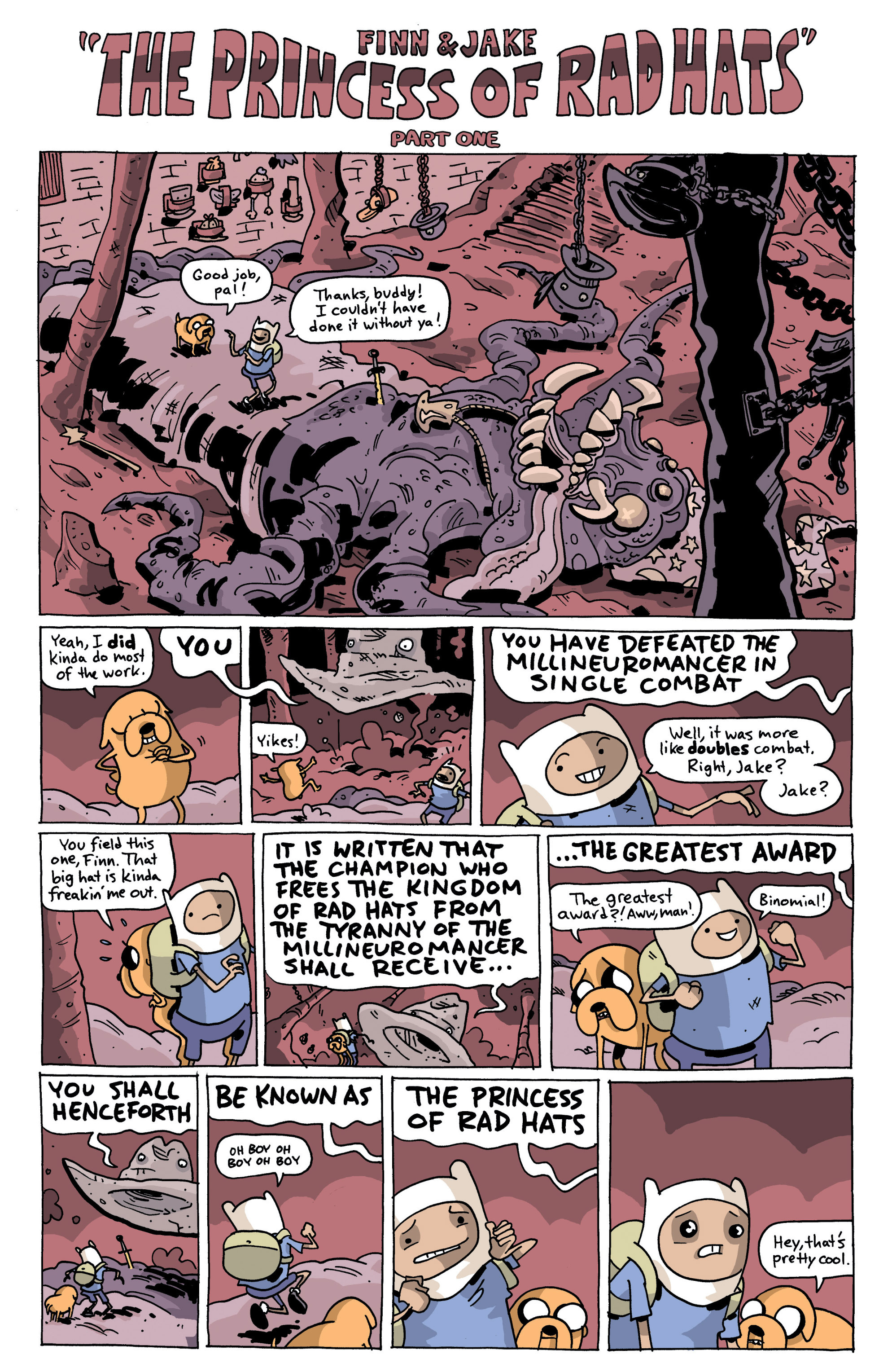 Read online Adventure Time comic -  Issue #13 - 24