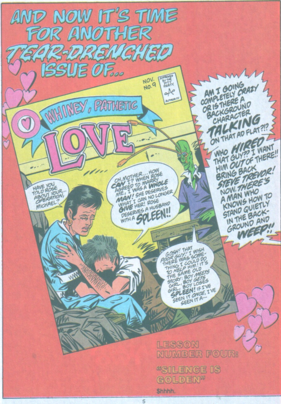 Read online Ambush Bug Nothing Special comic -  Issue # Full - 6