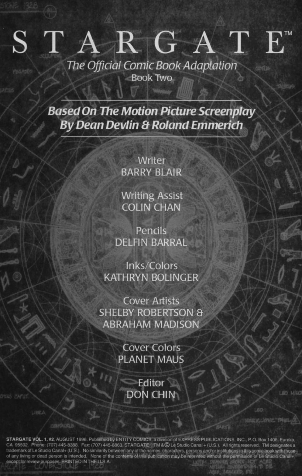 Read online Stargate comic -  Issue #2 - 2