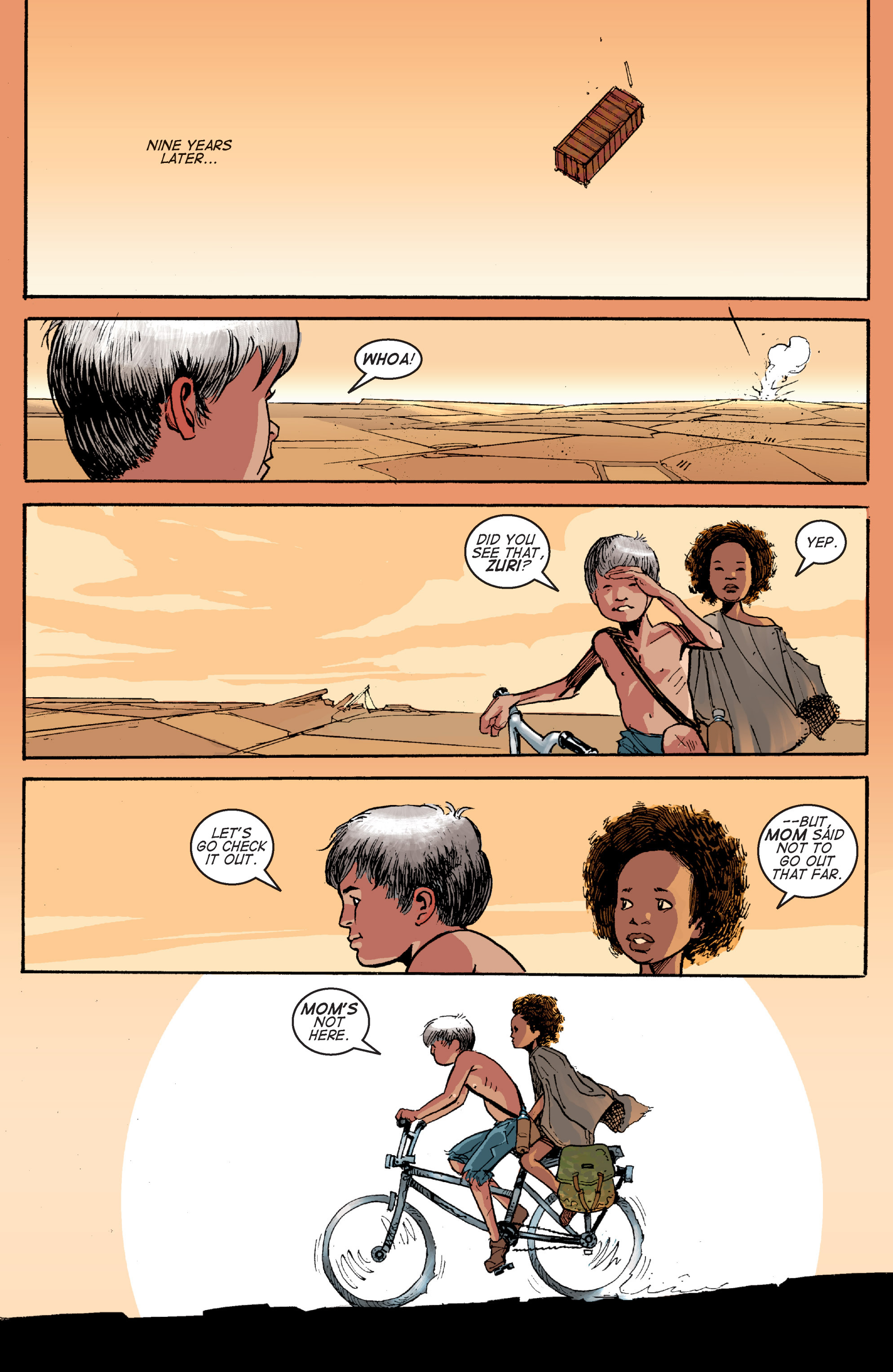 Read online Planetoid comic -  Issue # TPB - 166