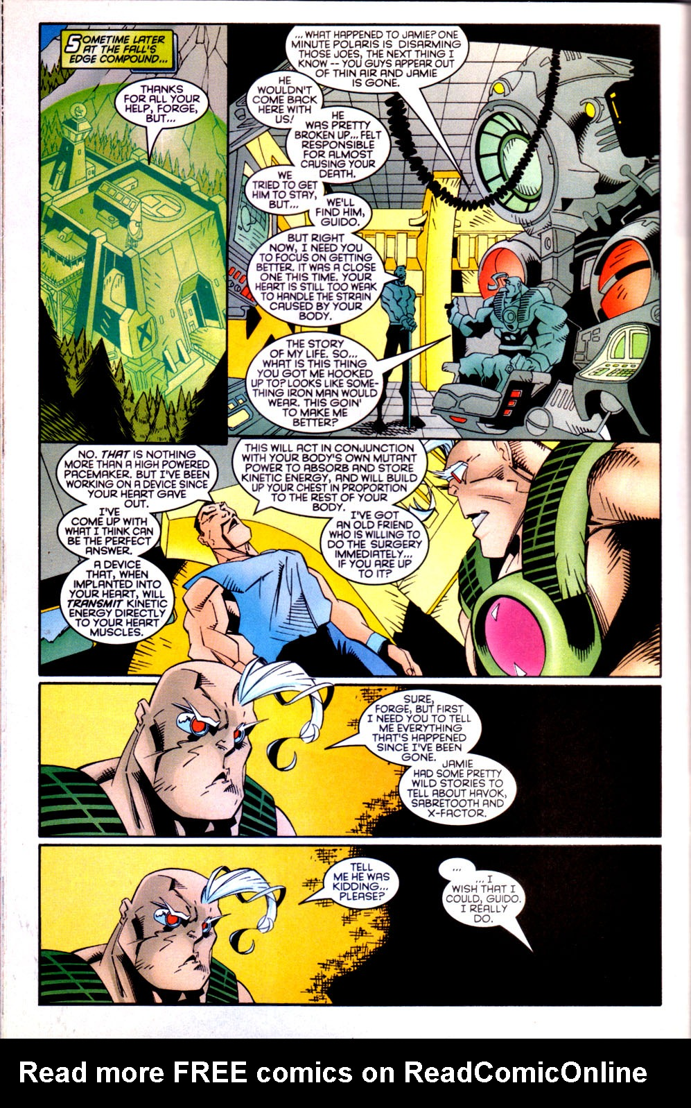 Read online X-Factor (1986) comic -  Issue #135 - 21