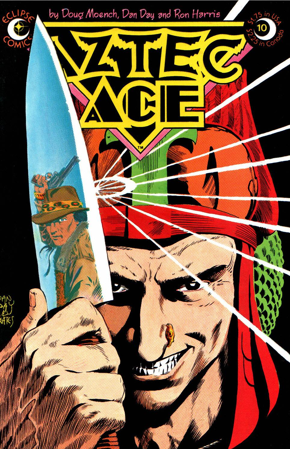 Read online Aztec Ace comic -  Issue #10 - 1