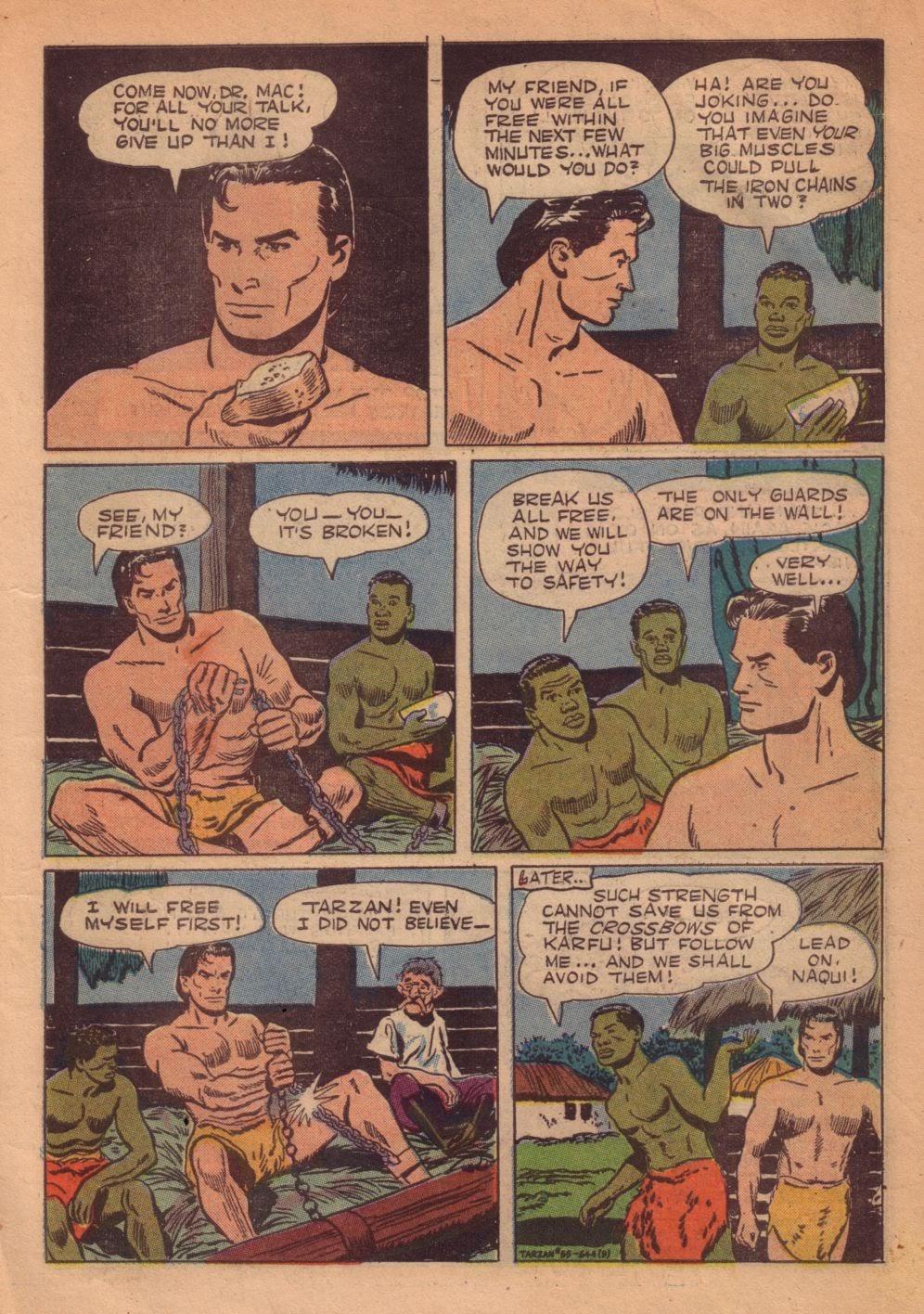 Tarzan (1948) issue 55 - Page 11