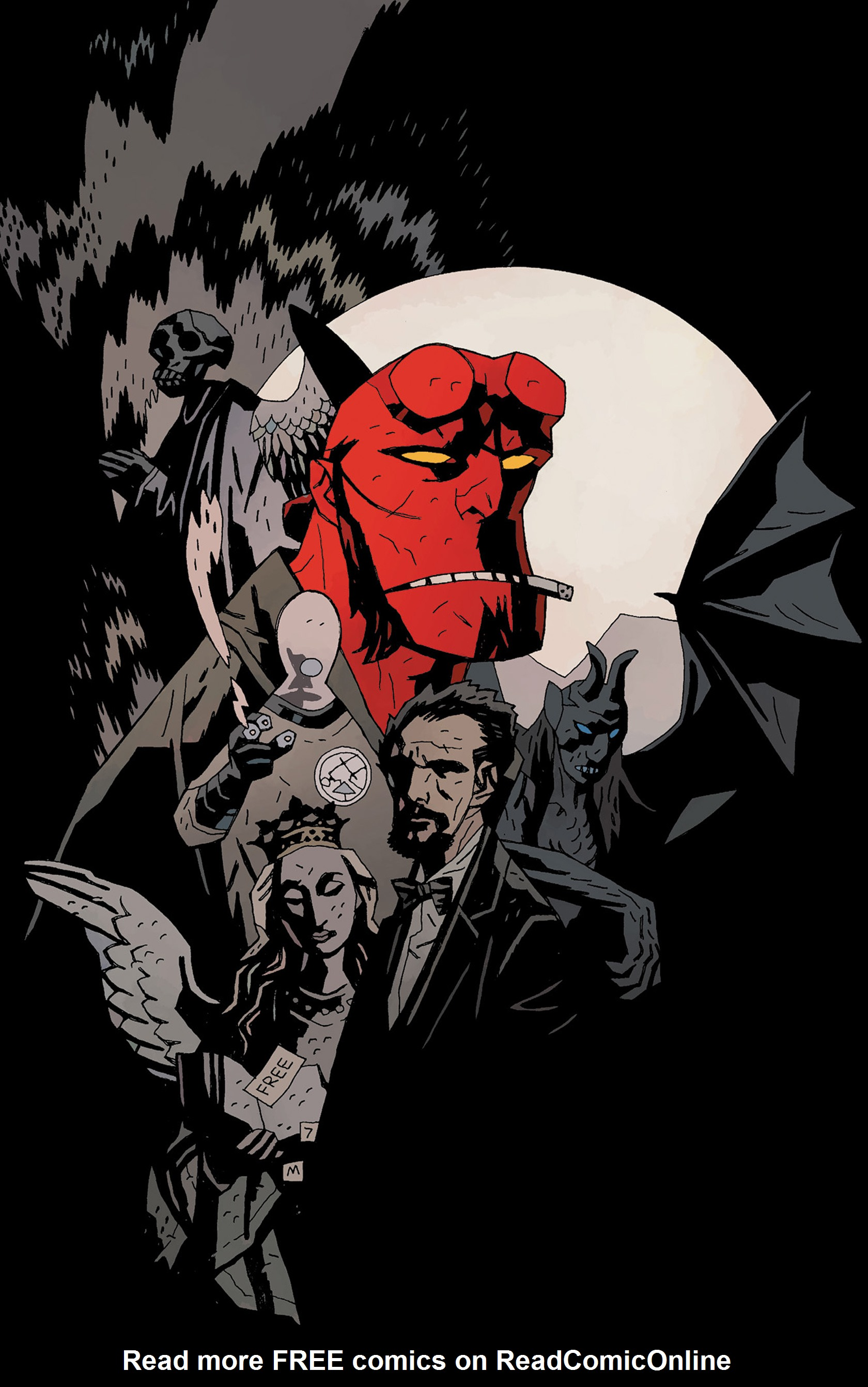 Read online Hellboy: The Crooked Man and Others comic -  Issue # TPB - 144