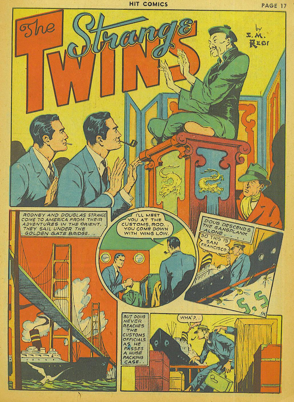 Read online Hit Comics comic -  Issue #13 - 19