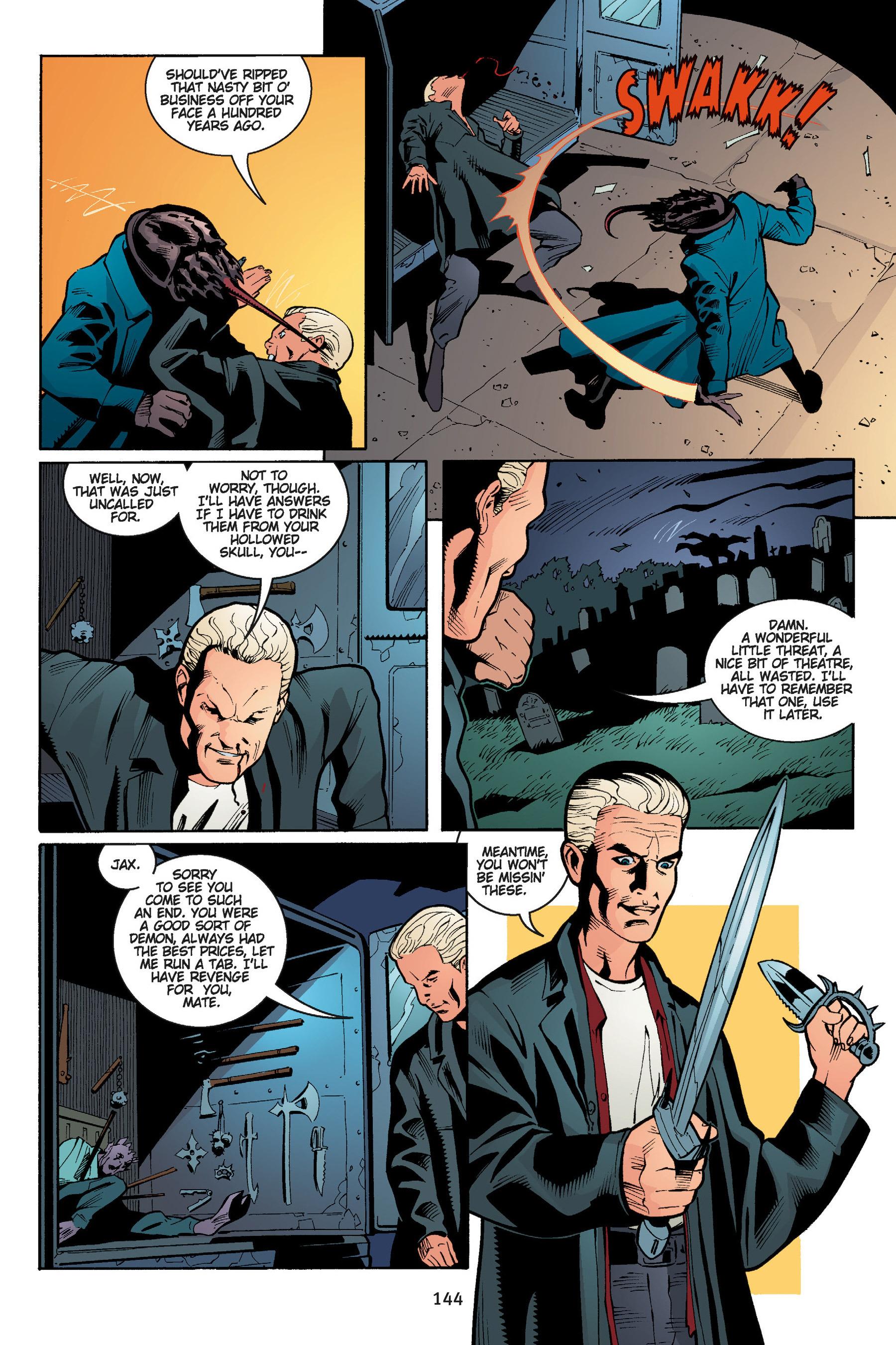 Read online Buffy the Vampire Slayer: Omnibus comic -  Issue # TPB 5 - 144