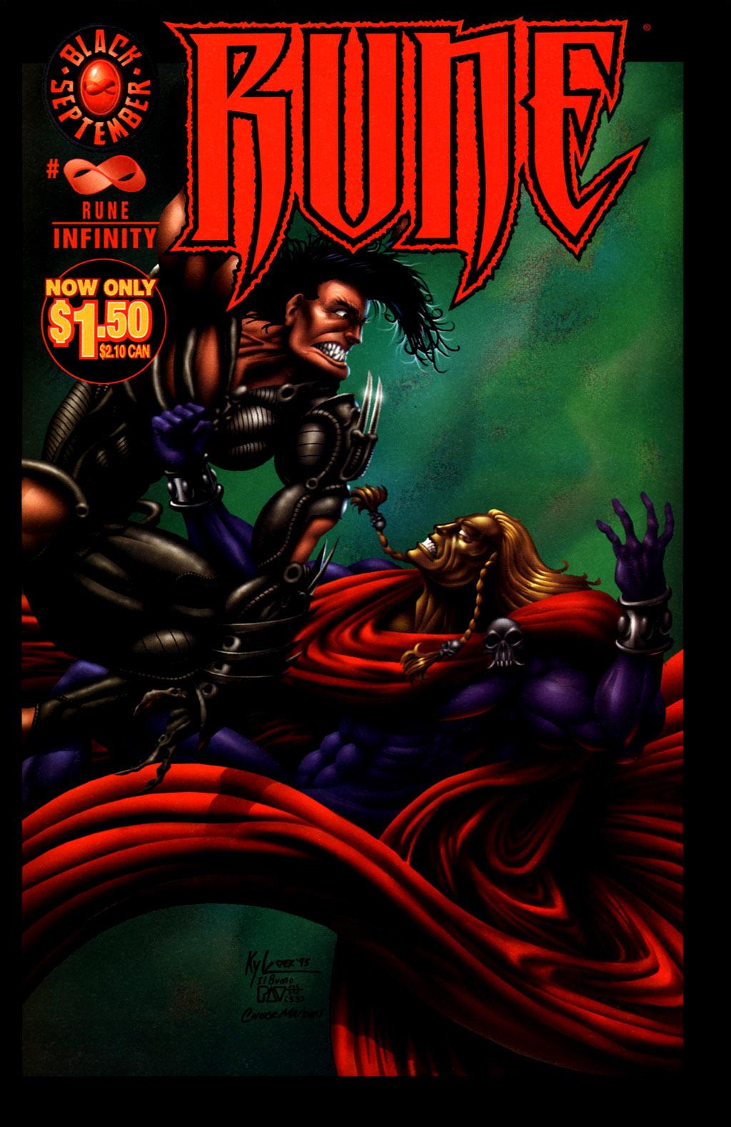 Read online Rune (1995) comic -  Issue # _Infinity - 2