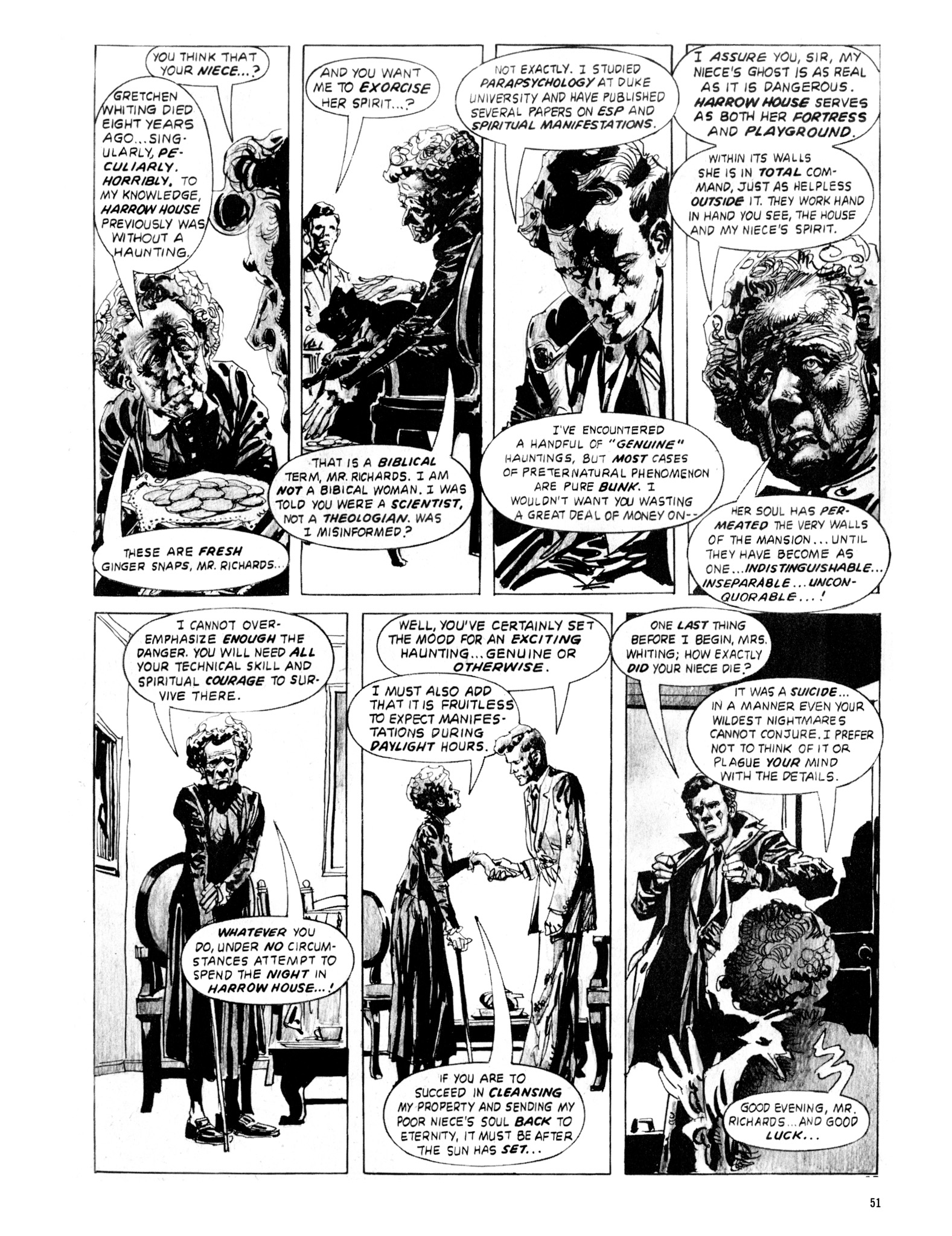 Read online Eerie Archives comic -  Issue # TPB 20 - 51