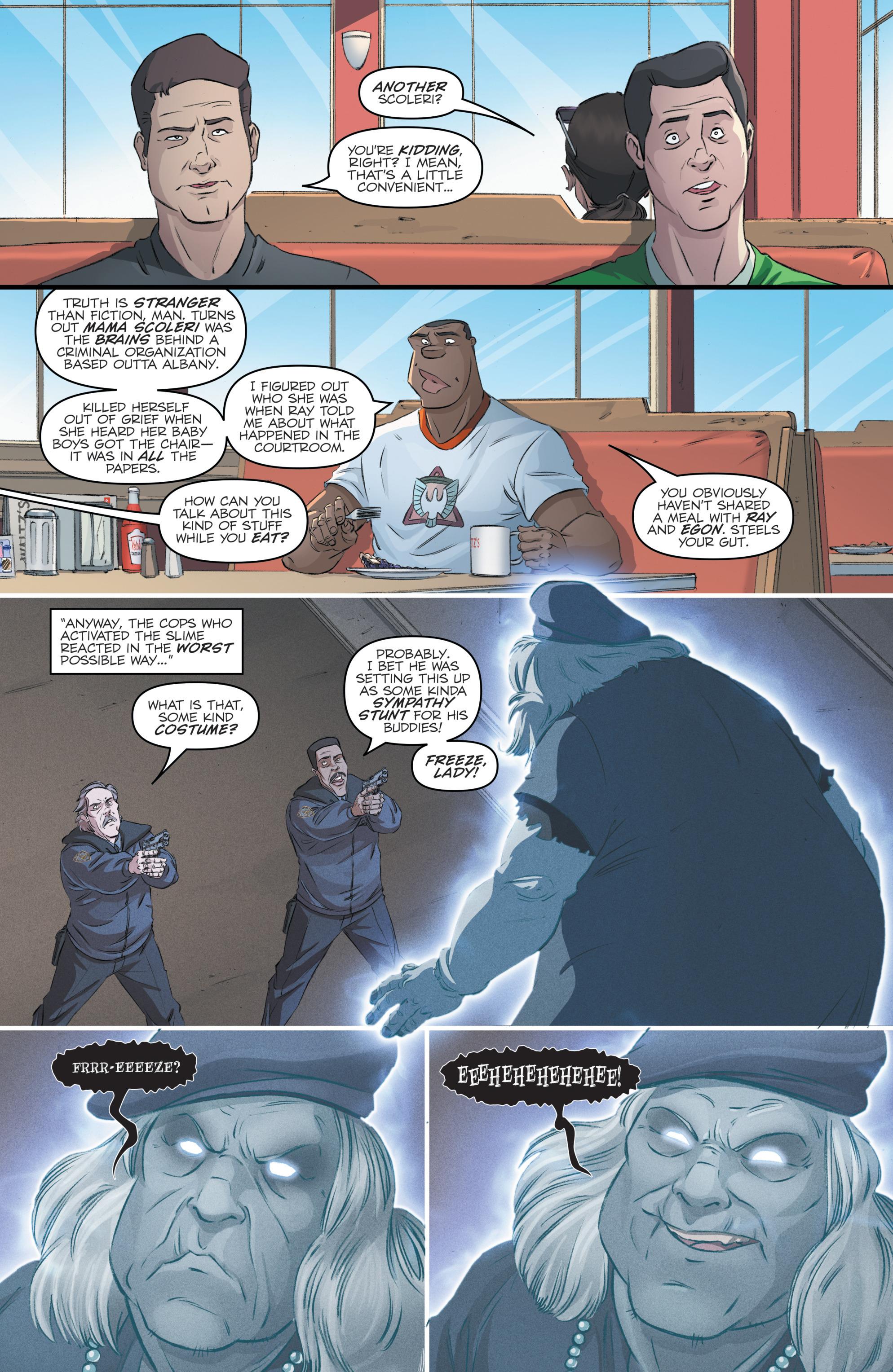 Read online Batman/Teenage Mutant Ninja Turtles Adventure comic -  Issue #4 - 29