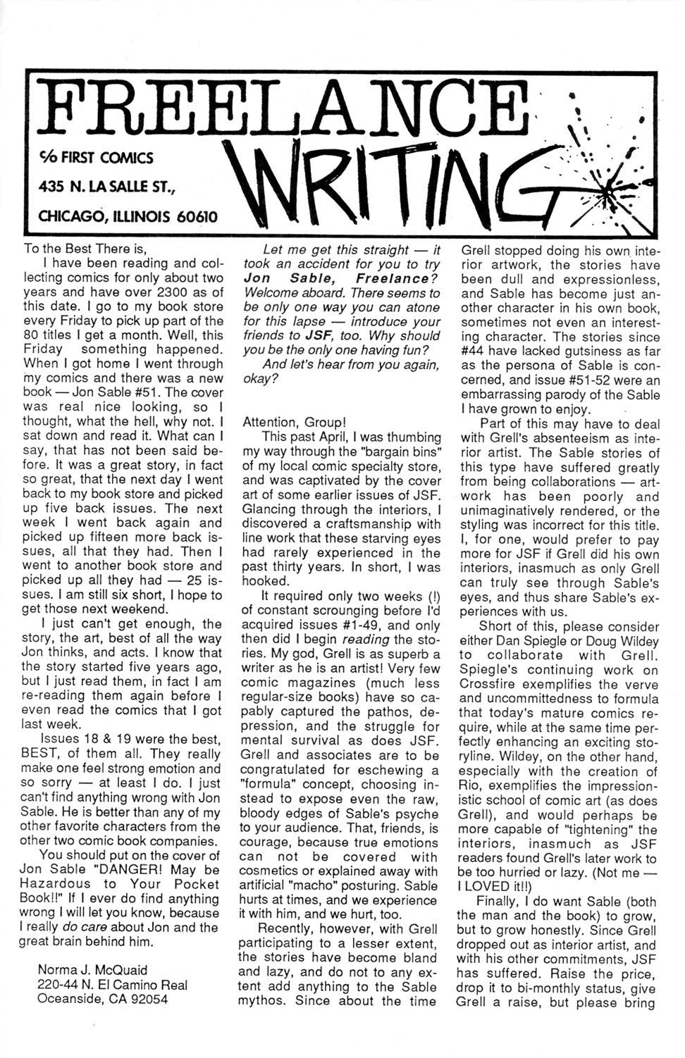 Jon Sable, Freelance issue 55 - Page 26