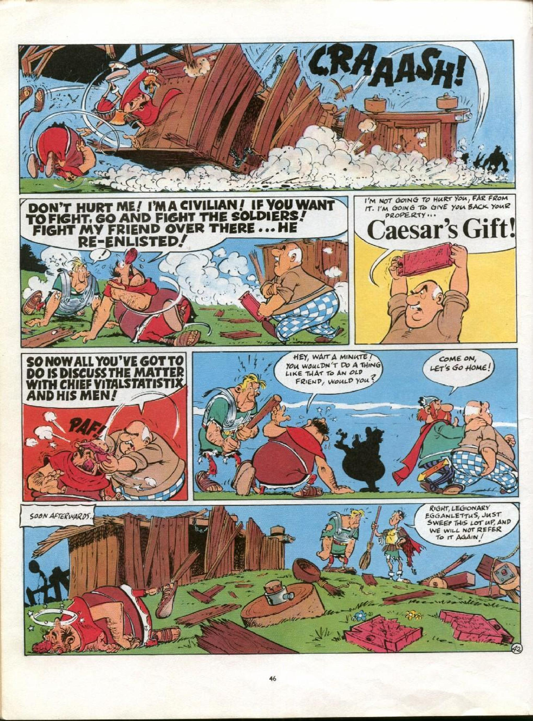 Read online Asterix comic -  Issue #21 - 43
