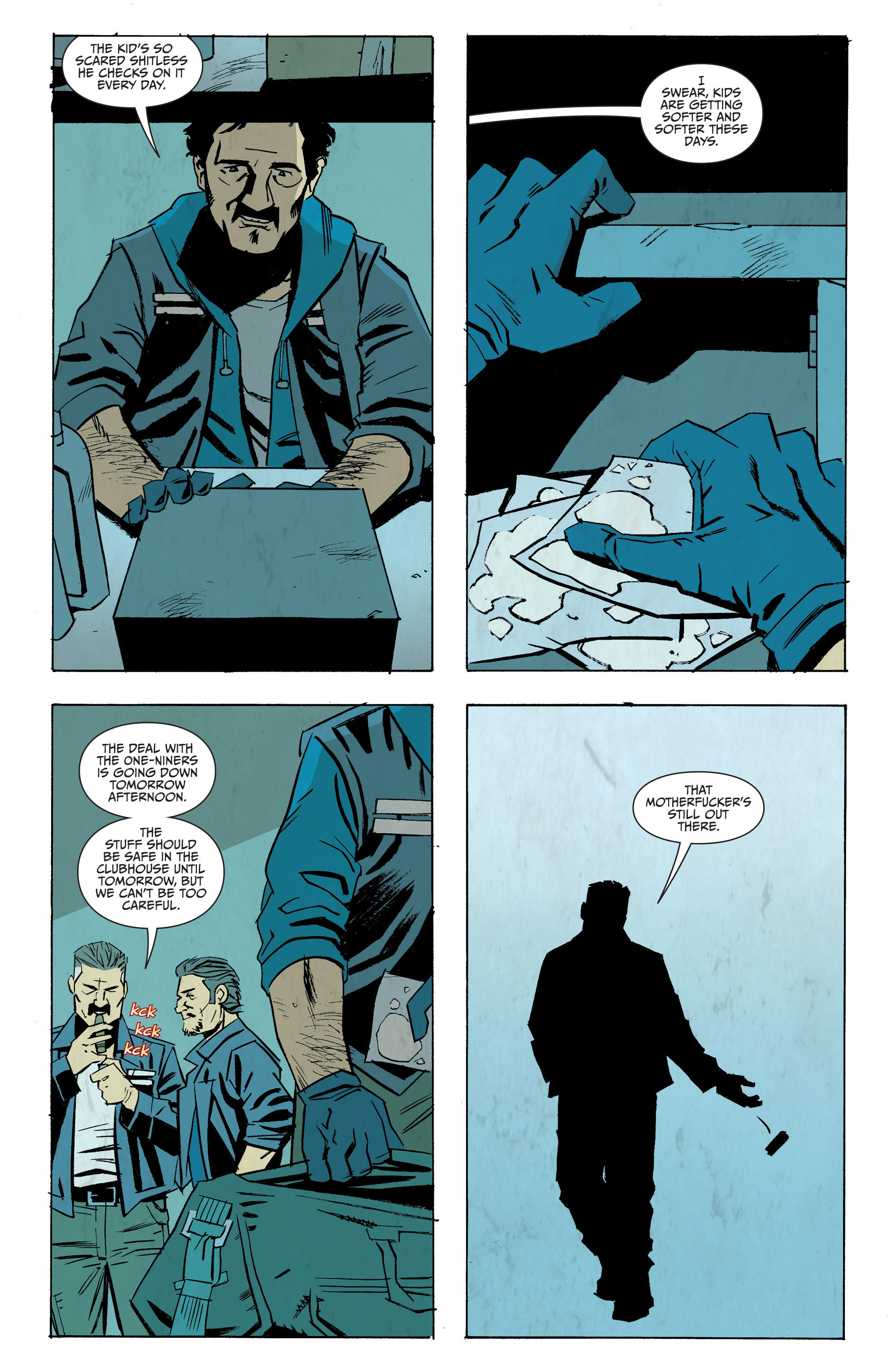 Read online Sons of Anarchy: Redwood Original comic -  Issue #7 - 22