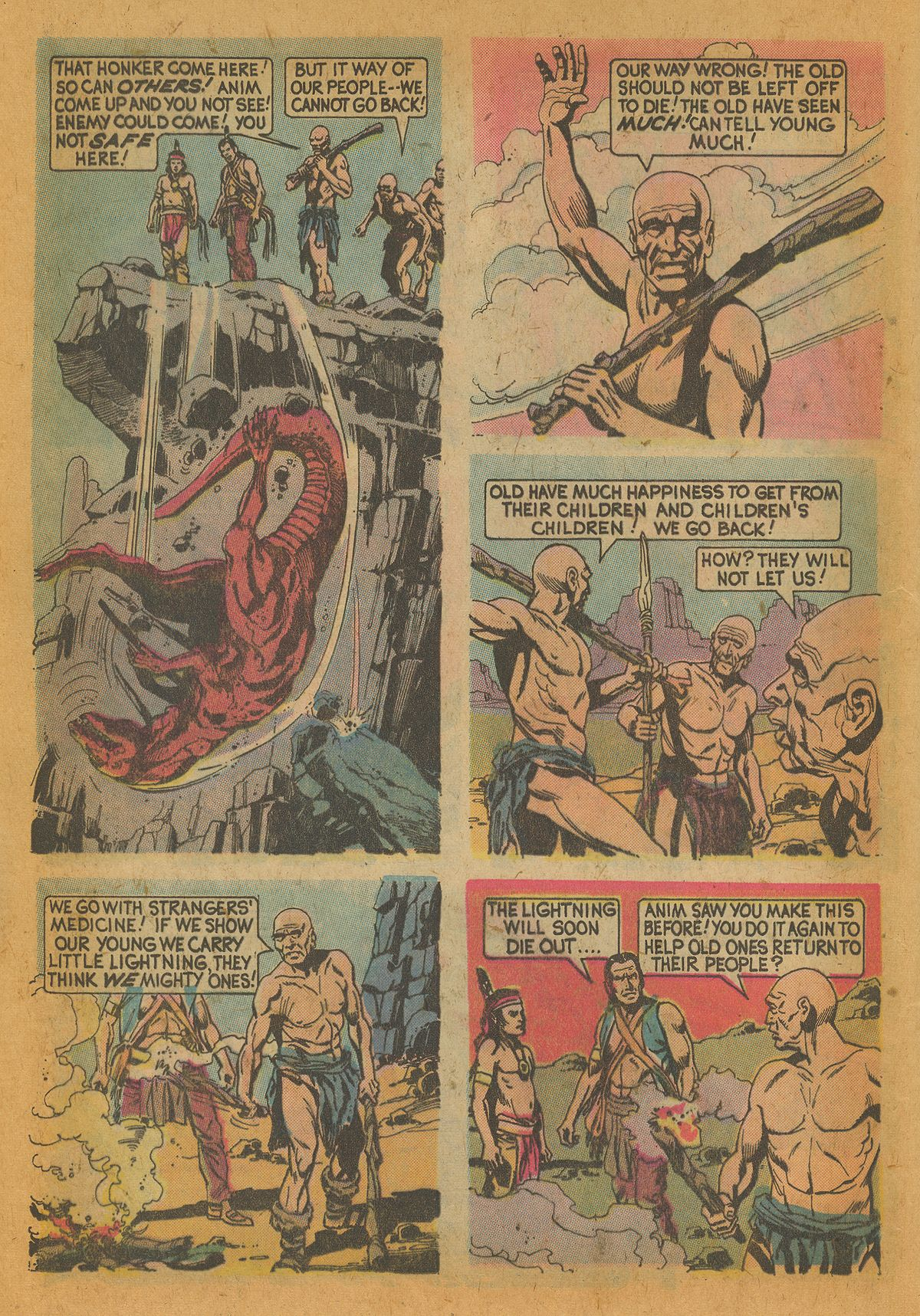 Read online Turok, Son of Stone comic -  Issue #112 - 12