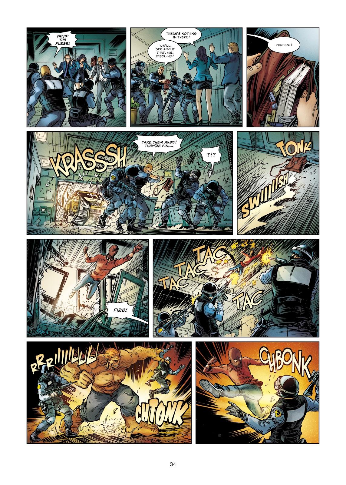 Read online Vigilantes comic -  Issue #4 - 34