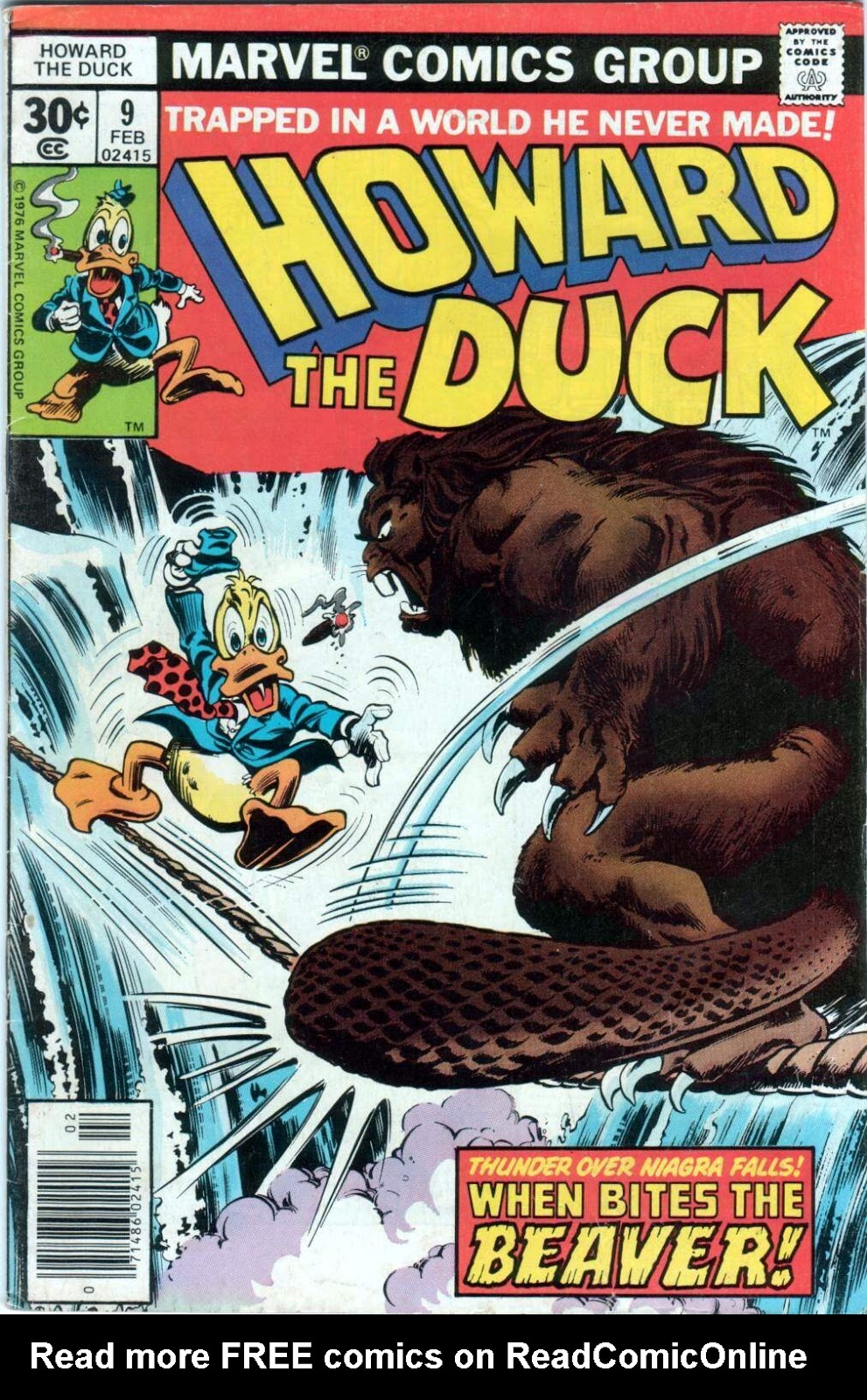 Howard the Duck (1976) Issue #9 #10 - English 1