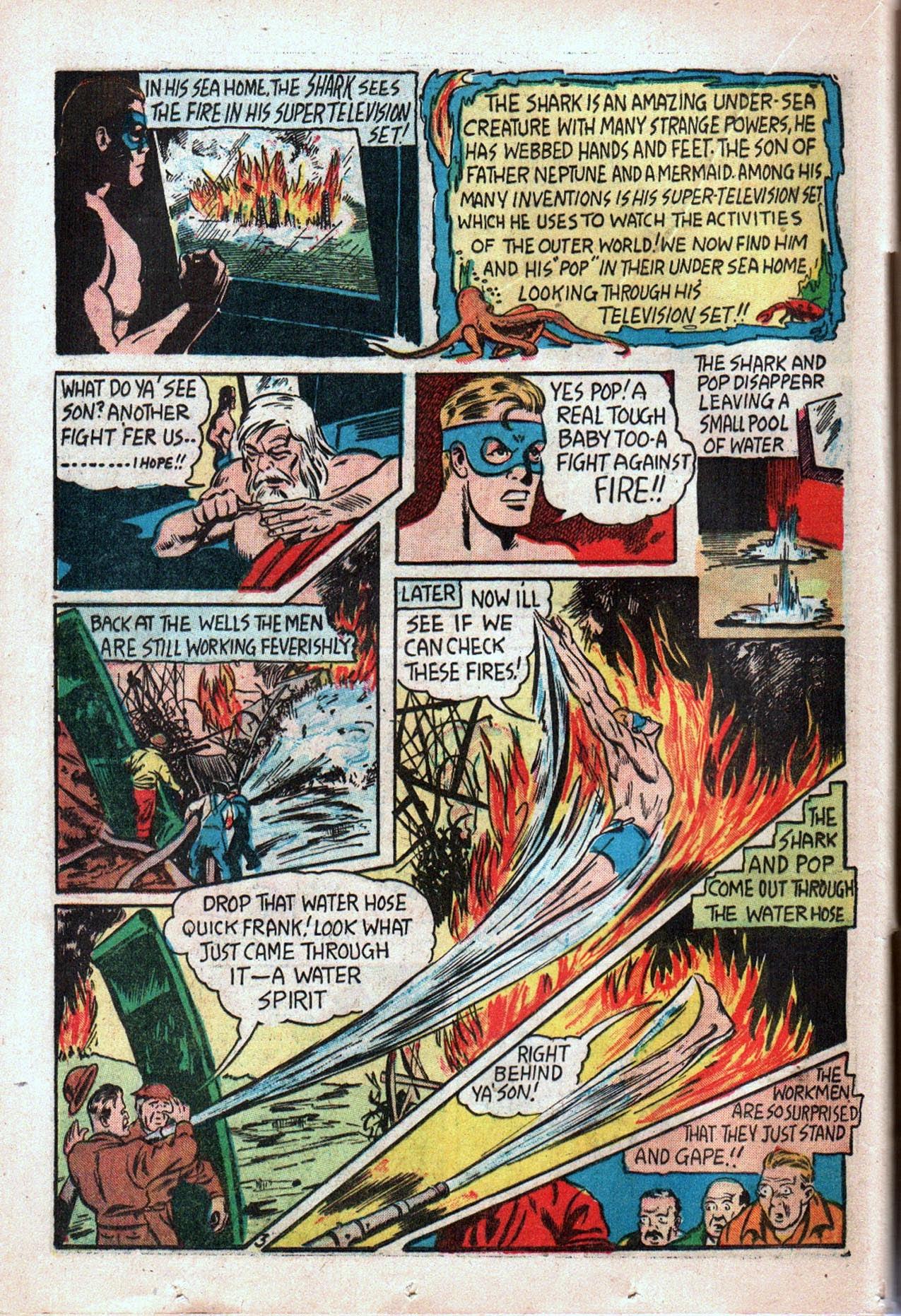 Read online Amazing Man Comics comic -  Issue #20 - 45