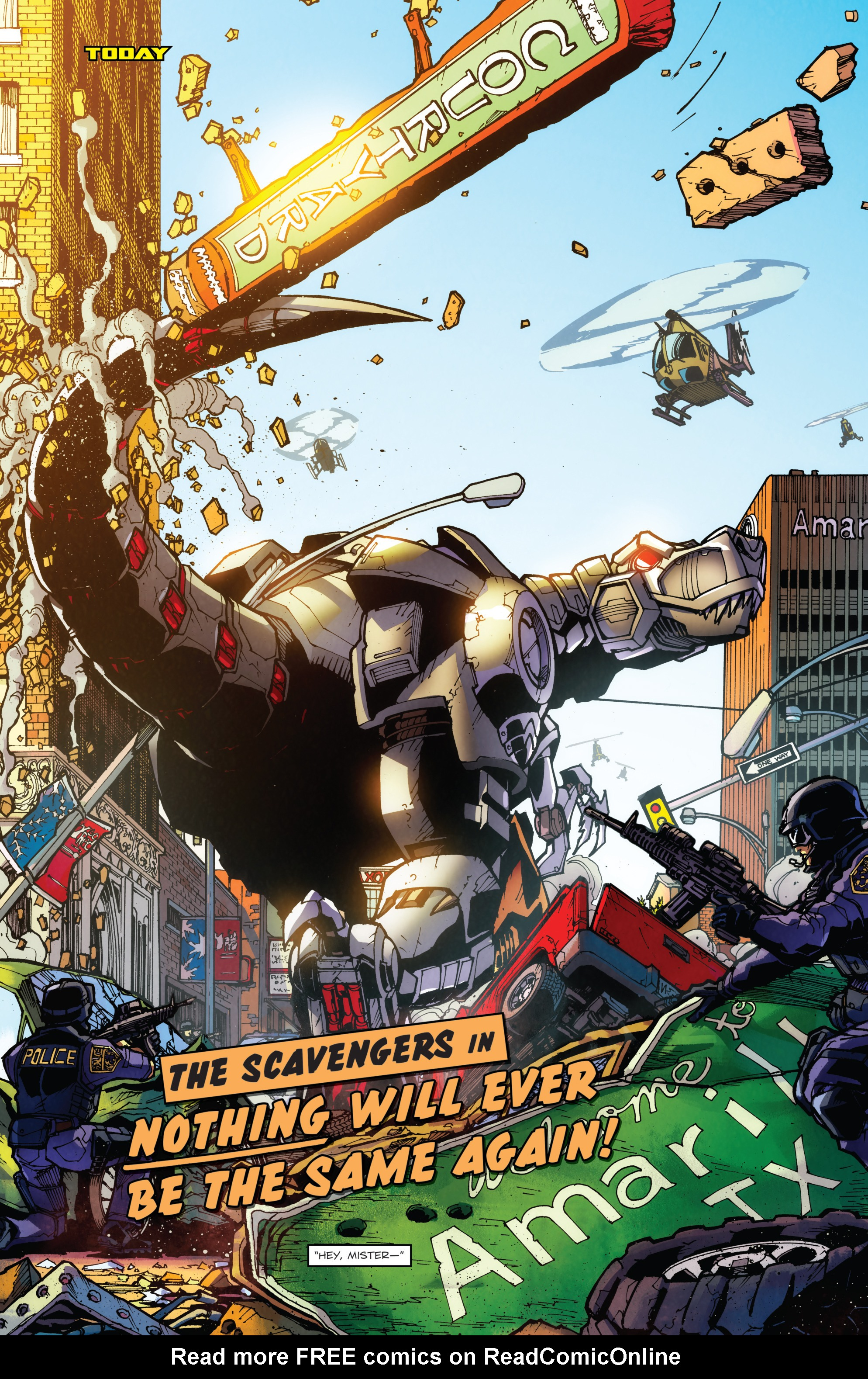 Read online Transformers: Till All Are One comic -  Issue #5 - 29