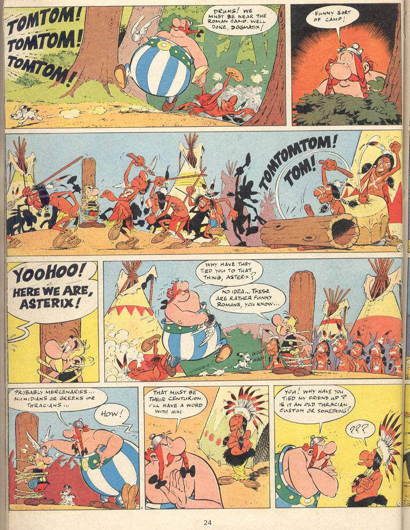 Read online Asterix comic -  Issue #22 - 21
