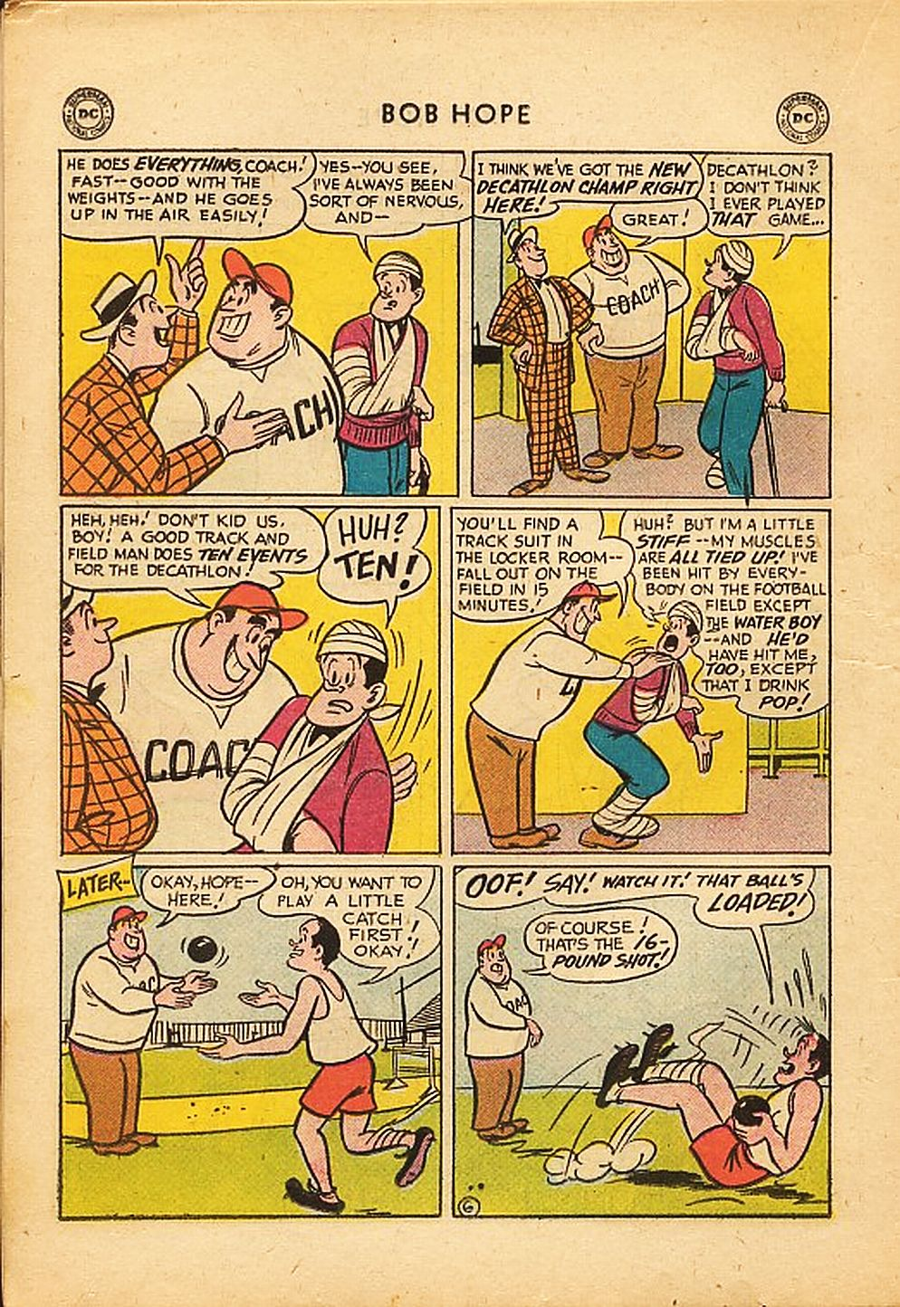 The Adventures of Bob Hope issue 42 - Page 18
