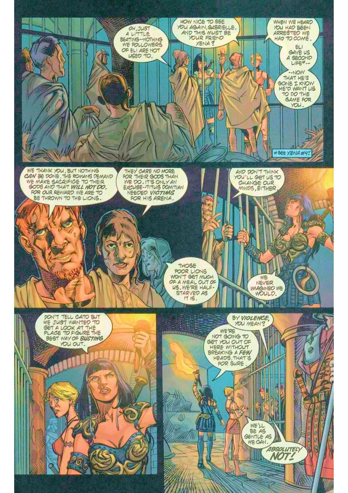 Xena: Warrior Princess (1999) Issue #7 #7 - English 8