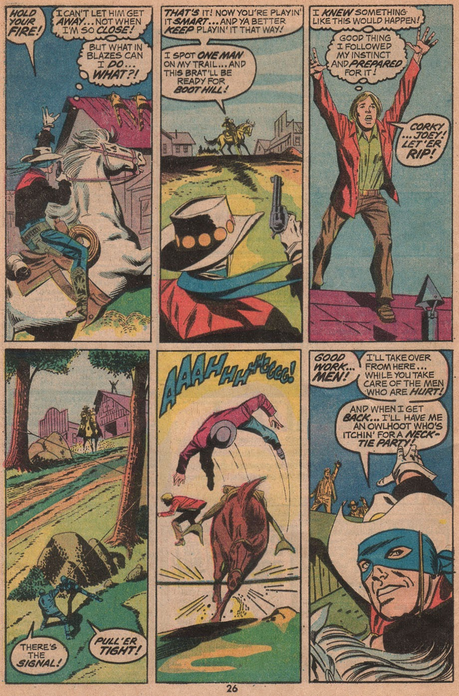 The Outlaw Kid (1970) issue 14 - Page 28