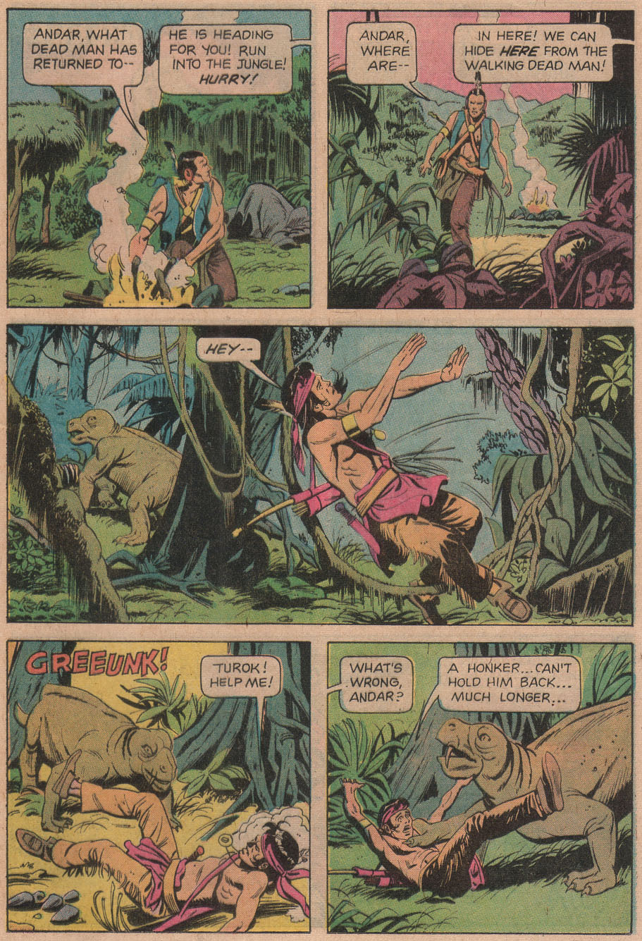 Read online Turok, Son of Stone comic -  Issue #97 - 25