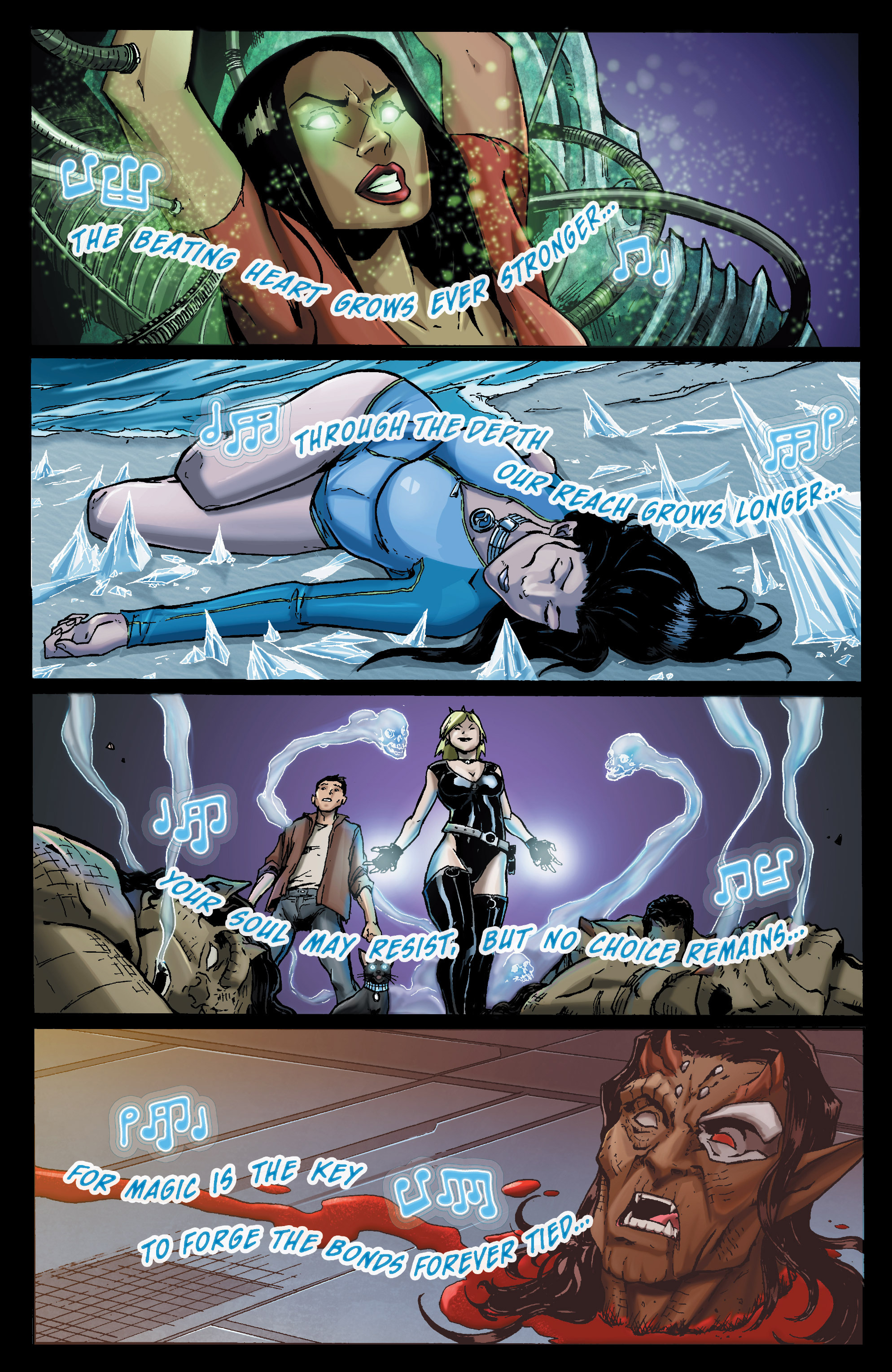 Read online Aspen Universe: Decimation comic -  Issue # Full - 19
