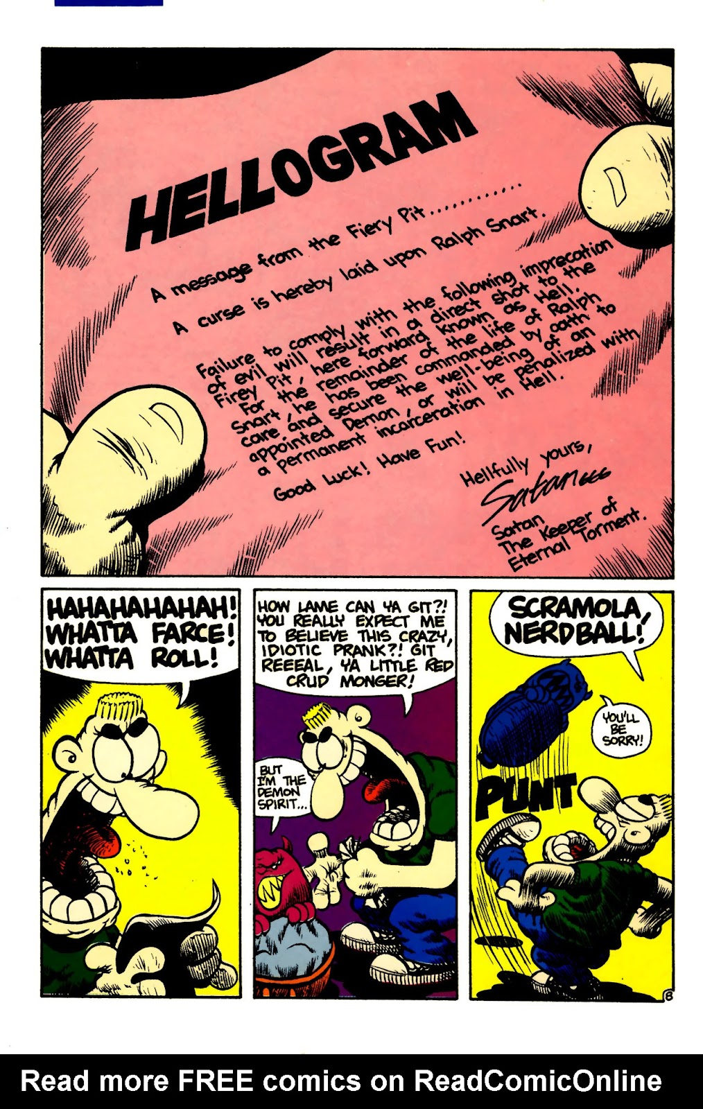 Ralph Snart Adventures (1988) issue 5 - Page 10
