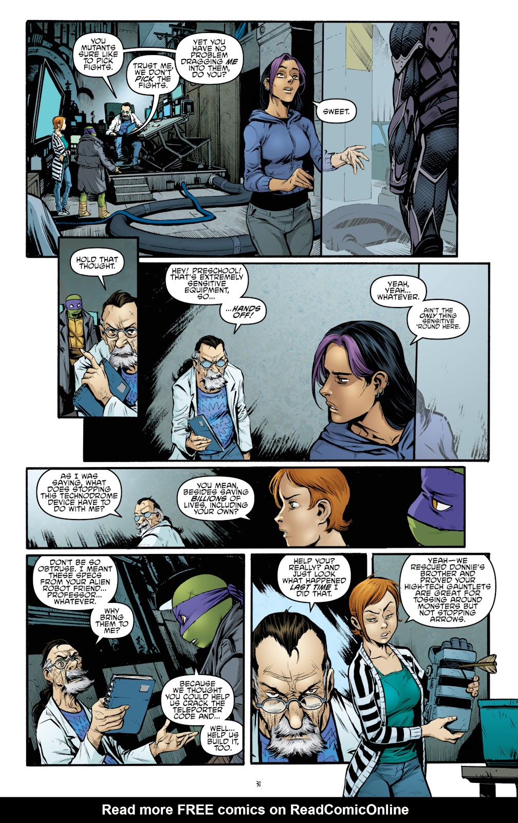 Read online Teenage Mutant Ninja Turtles: The IDW Collection comic -  Issue # TPB 4 (Part 3) - 39
