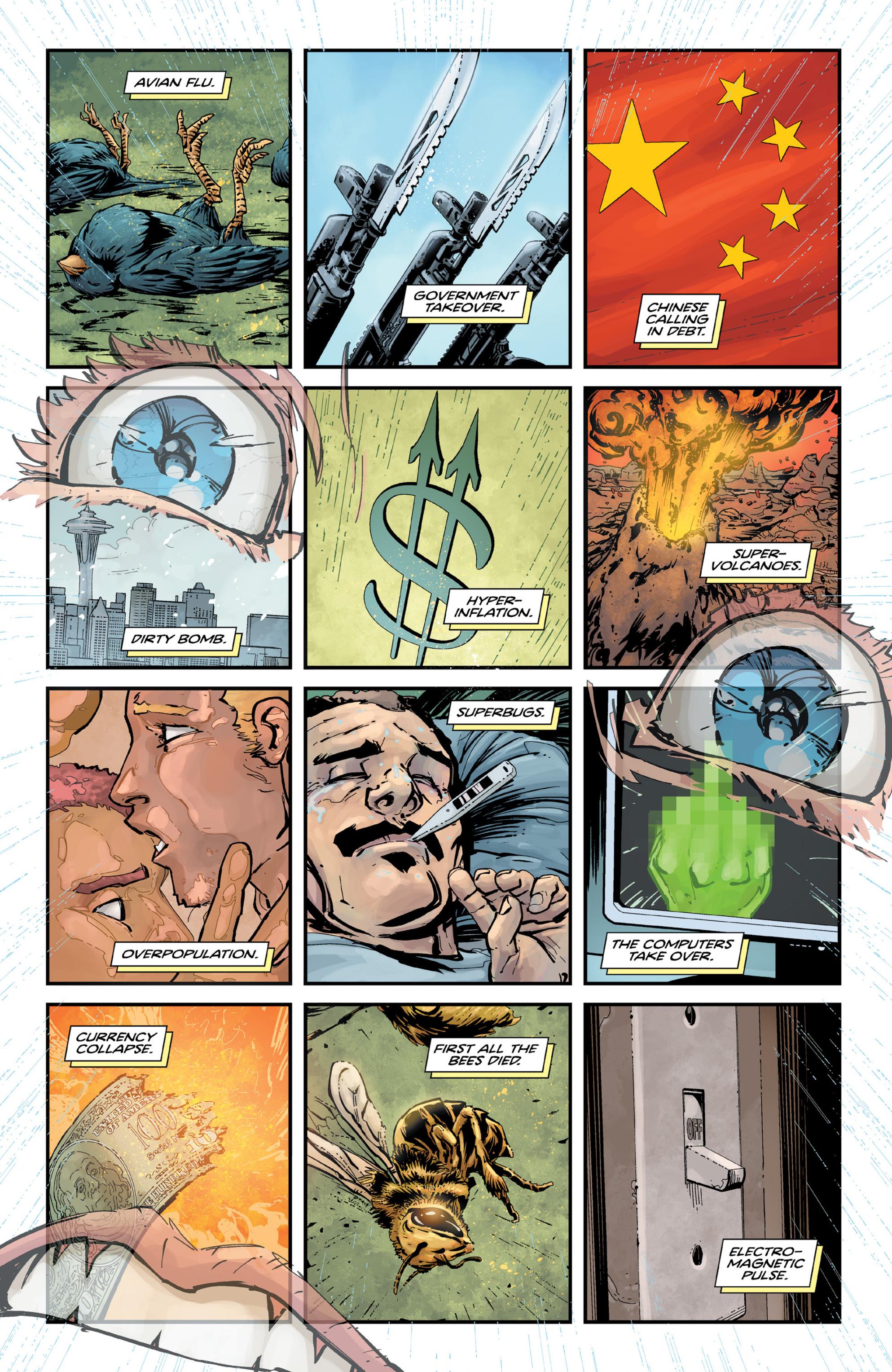 Read online Brain Boy:  The Men from G.E.S.T.A.L.T. comic -  Issue # TPB - 71
