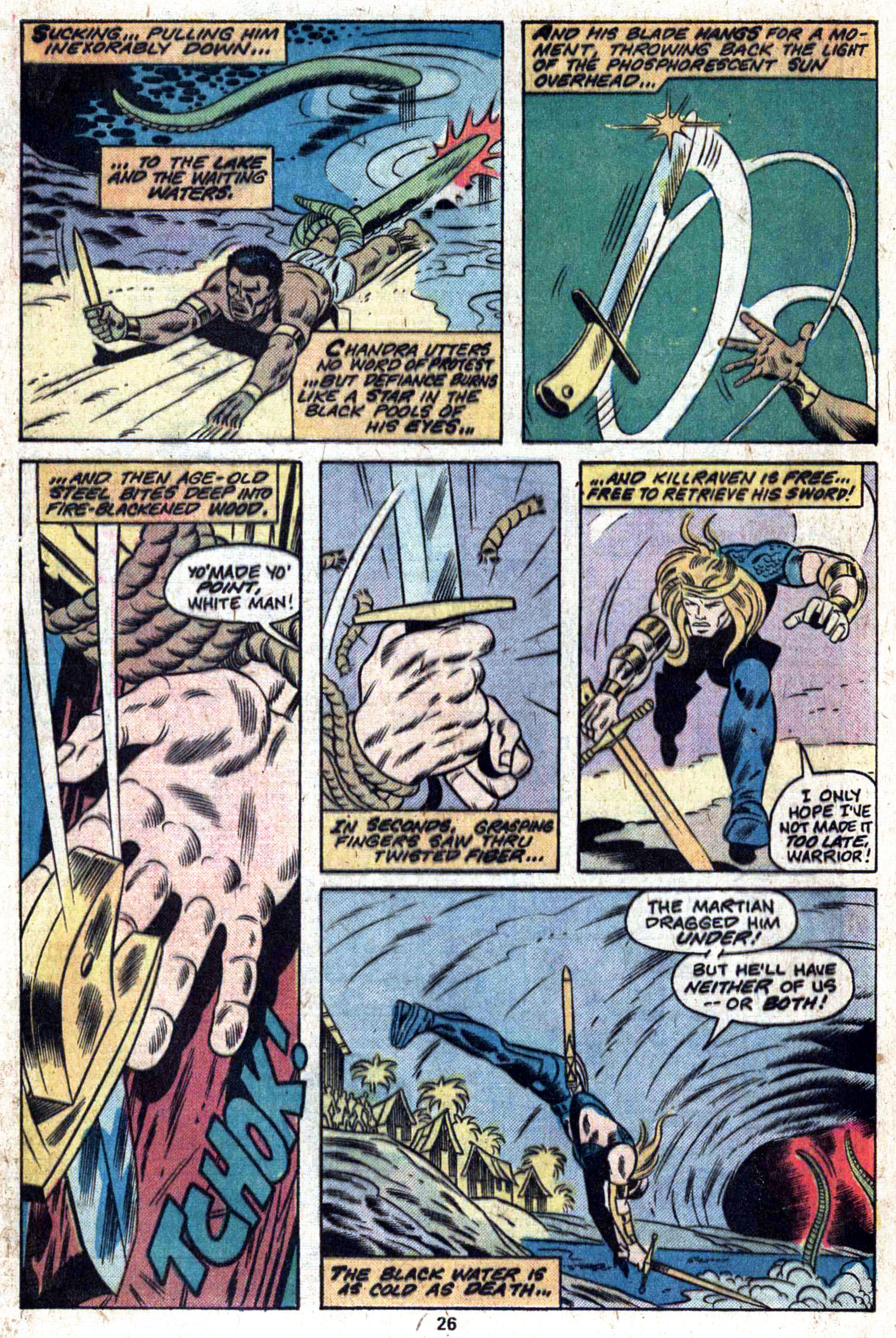 Read online Amazing Adventures (1970) comic -  Issue #33 - 27