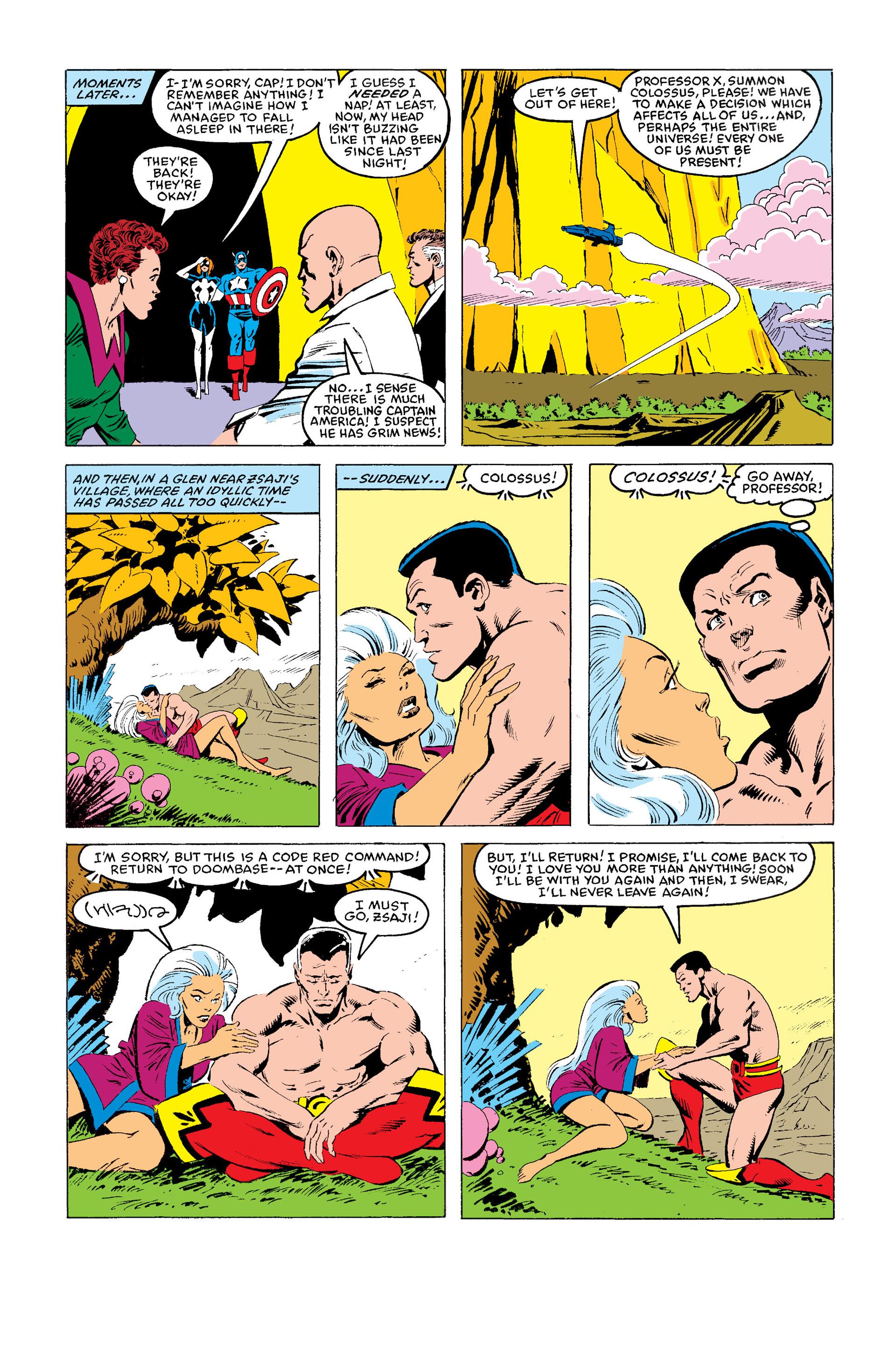 Read online Secret Wars (1985) comic -  Issue #11 - 23