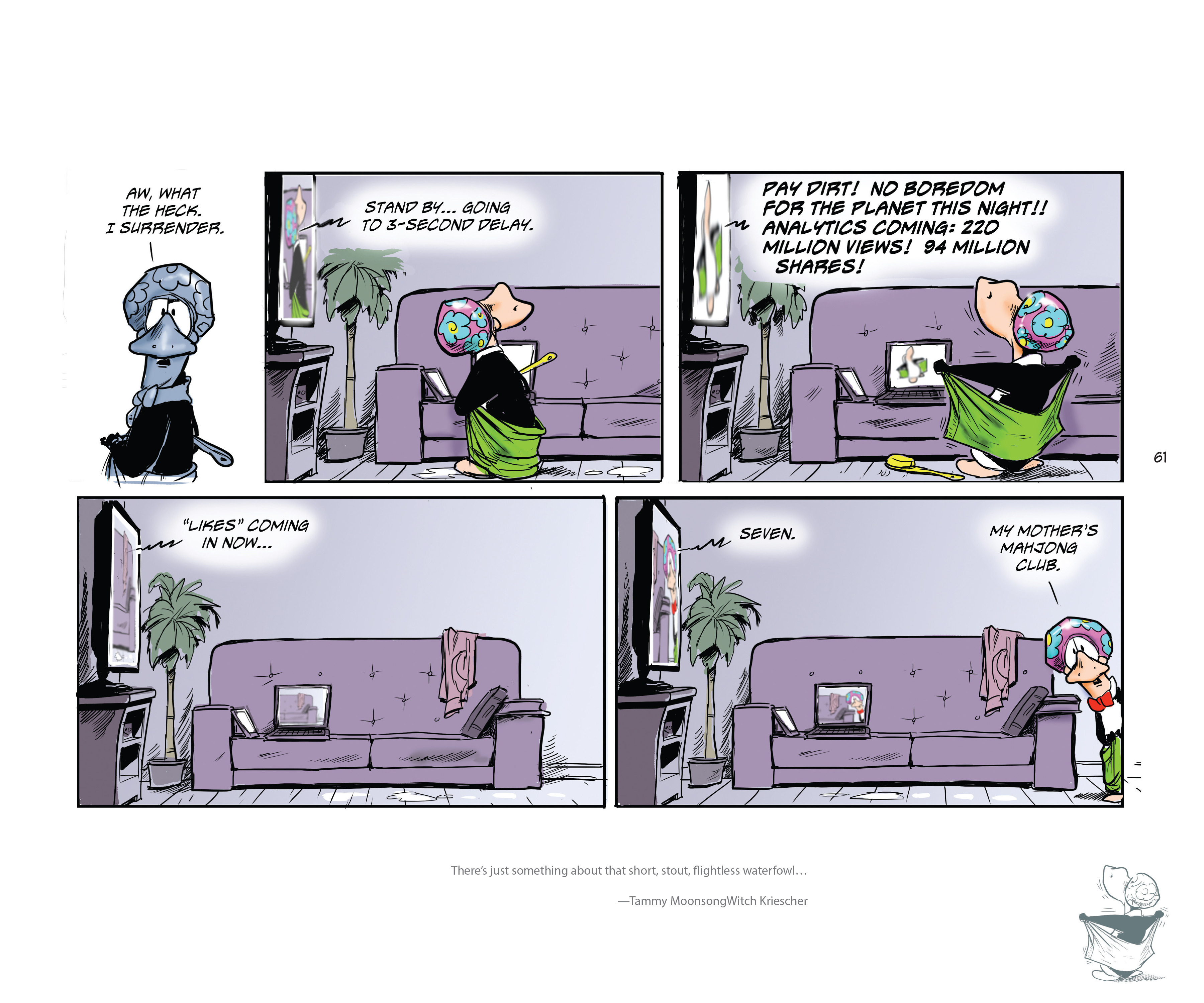 Read online Bloom County Episode XI: A New Hope comic -  Issue # Full - 63
