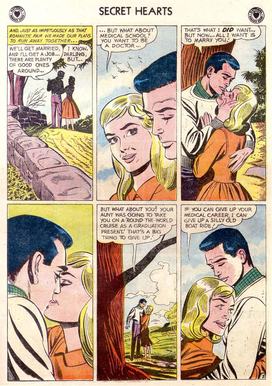 Read online Secret Hearts comic -  Issue #65 - 20