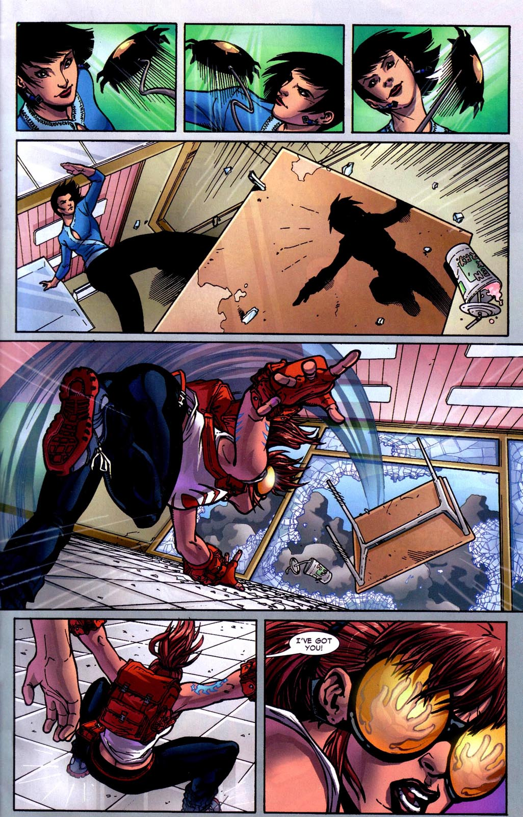 Read online Araña: Heart of the Spider comic -  Issue #7 - 20