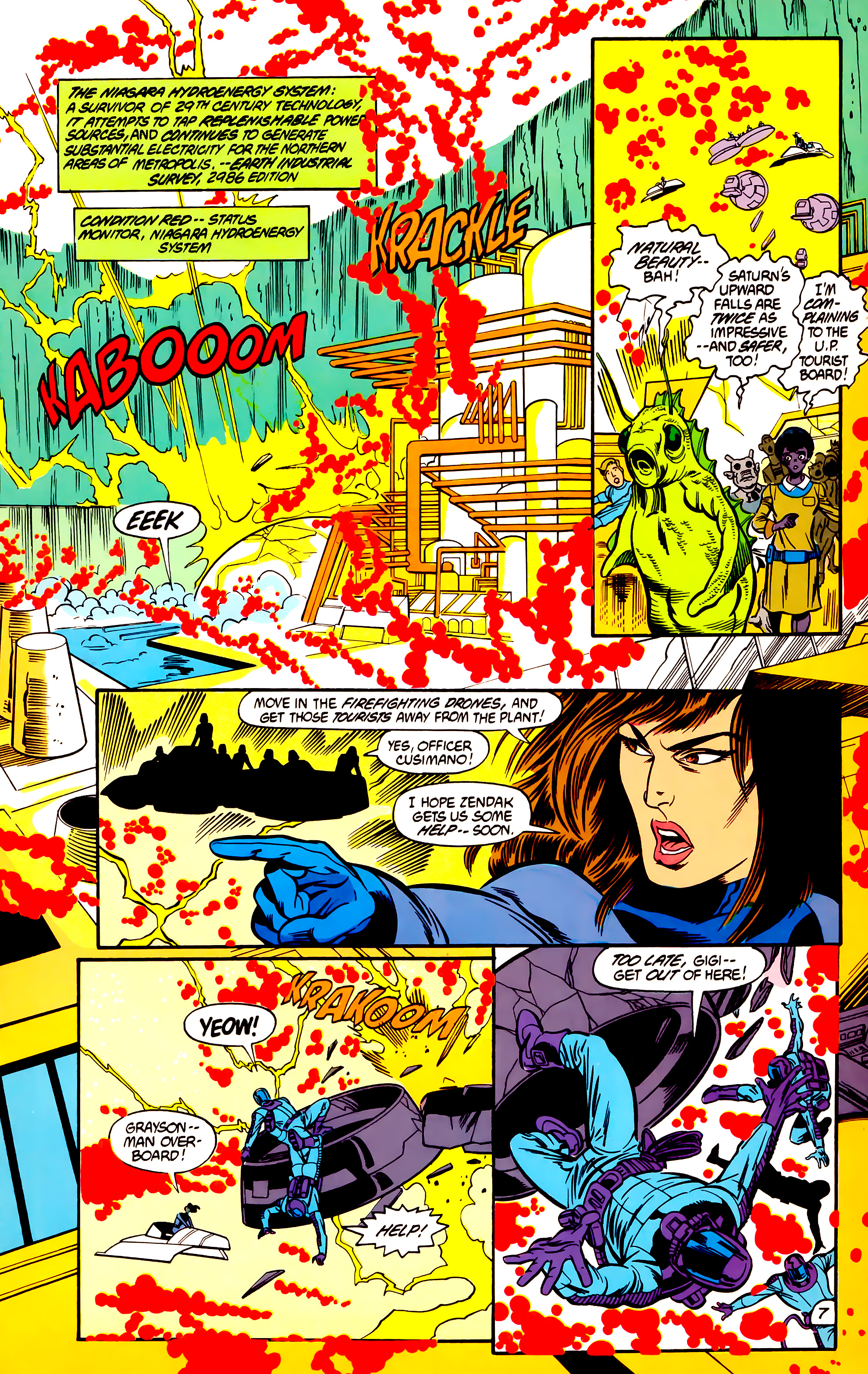 Legion of Super-Heroes (1984) 30 Page 7