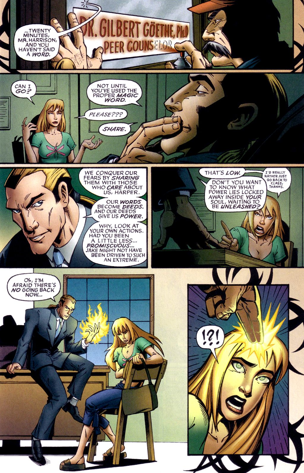 Read online Jezebelle comic -  Issue #1 - 8