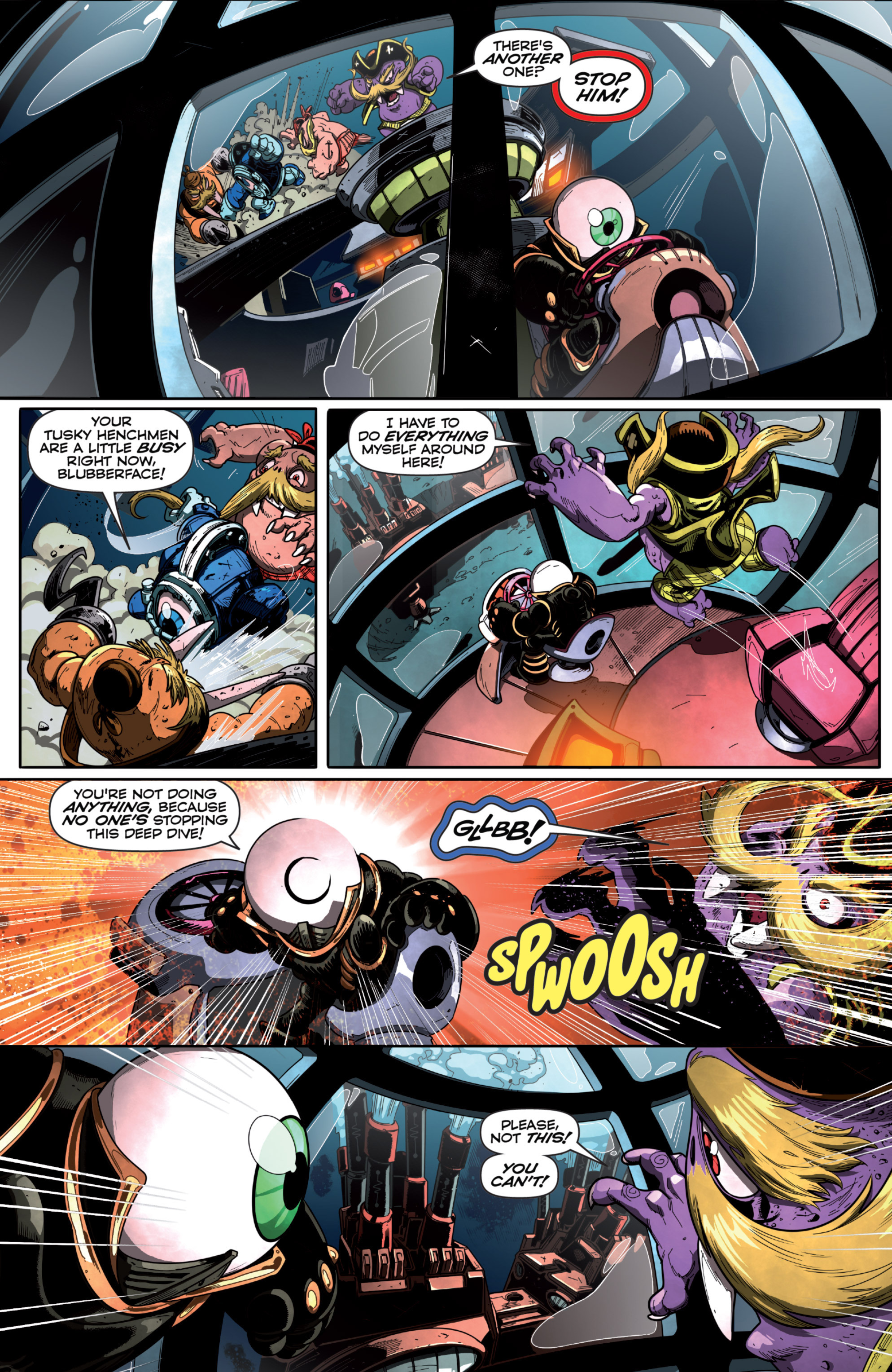 Read online Skylanders Superchargers comic -  Issue #6 - 13