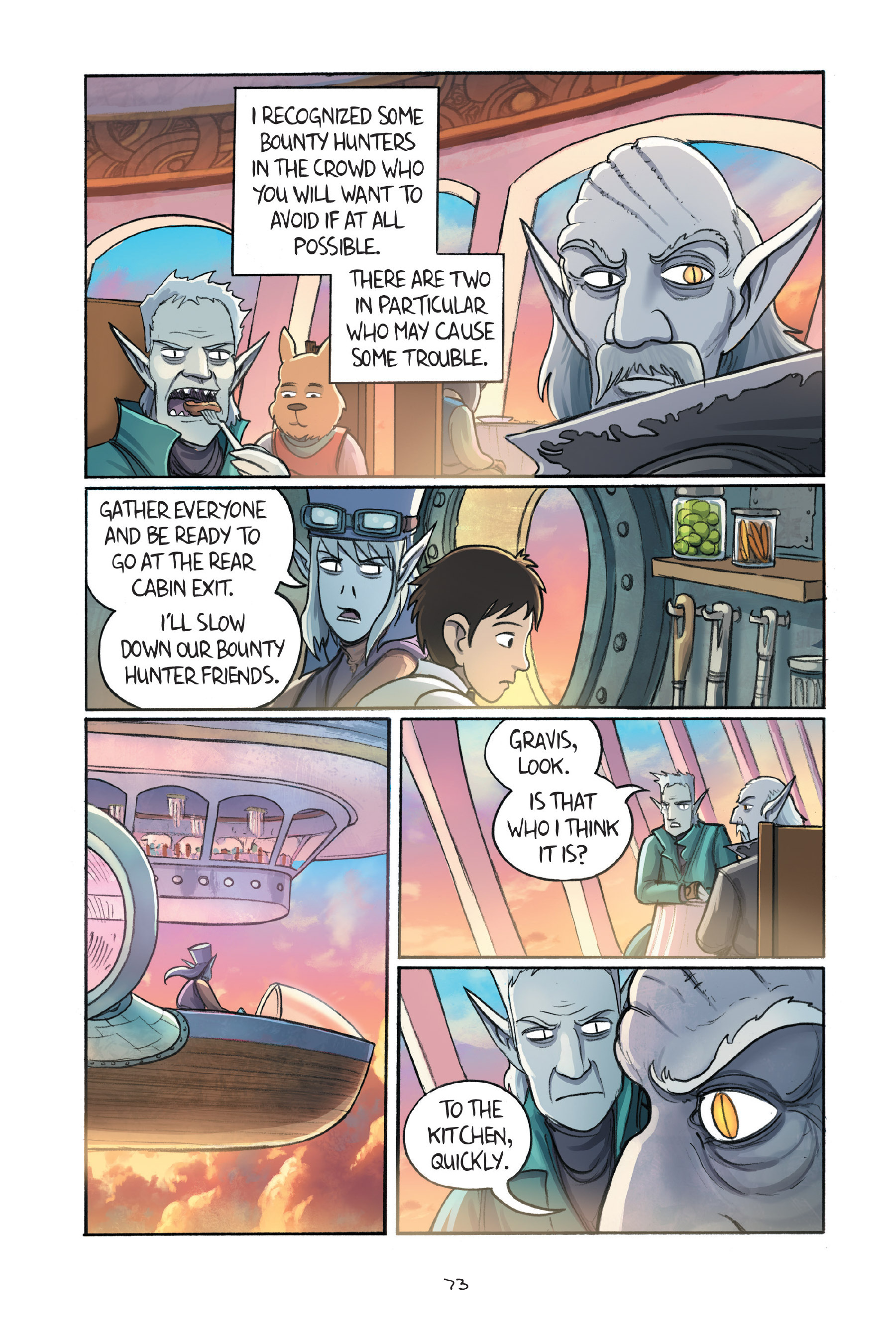 Read online Amulet comic -  Issue #7 - 74