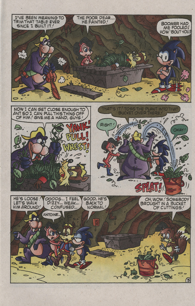 Read online Sonic the Hedgehog Free Comic Book Day Edition comic -  Issue # Special 2 - 14