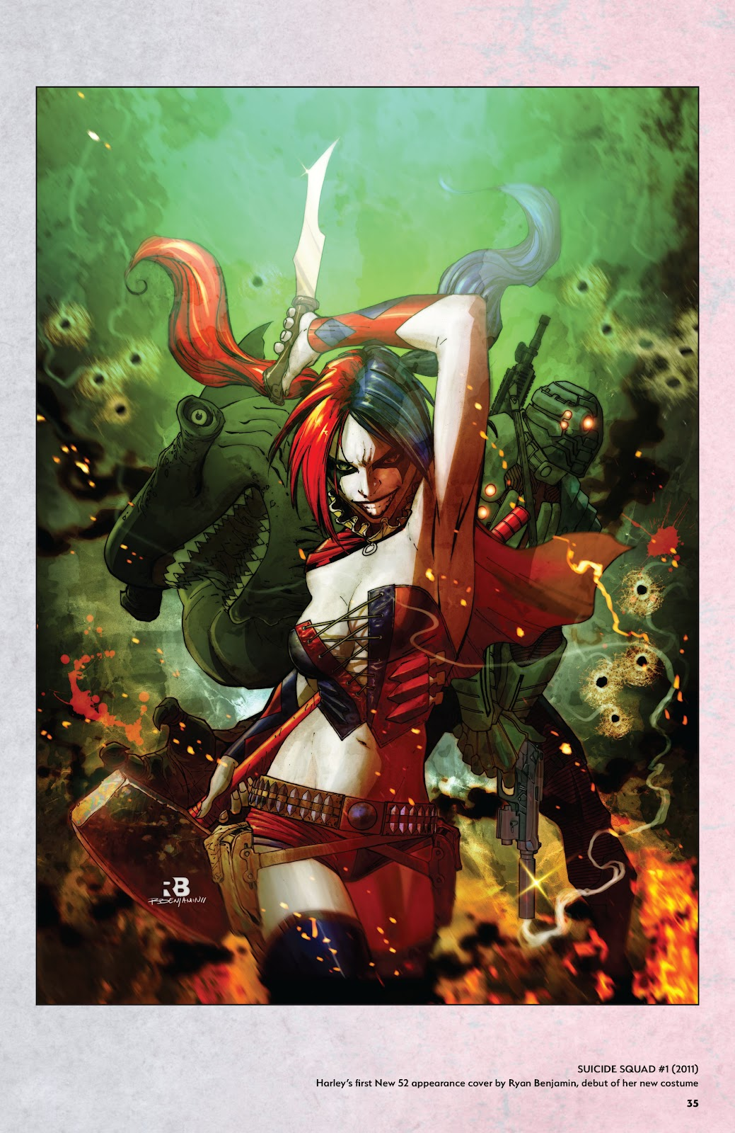 Read online Harley Quinn: A Rogue's Gallery―The Deluxe Cover Art Collection comic -  Issue # TPB (Part 1) - 34